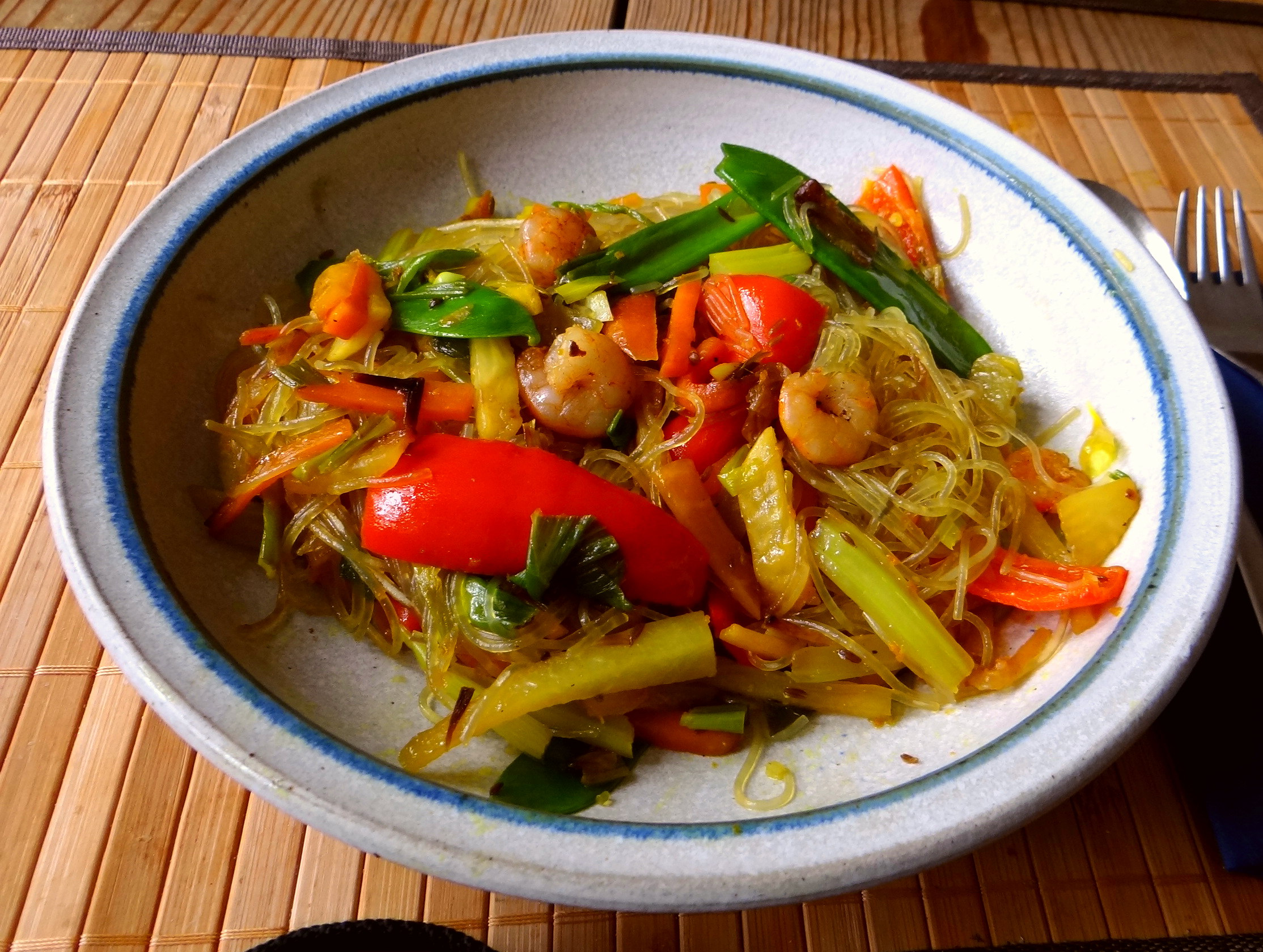 Asiatisches Gemüse mit Garnelen (15)
