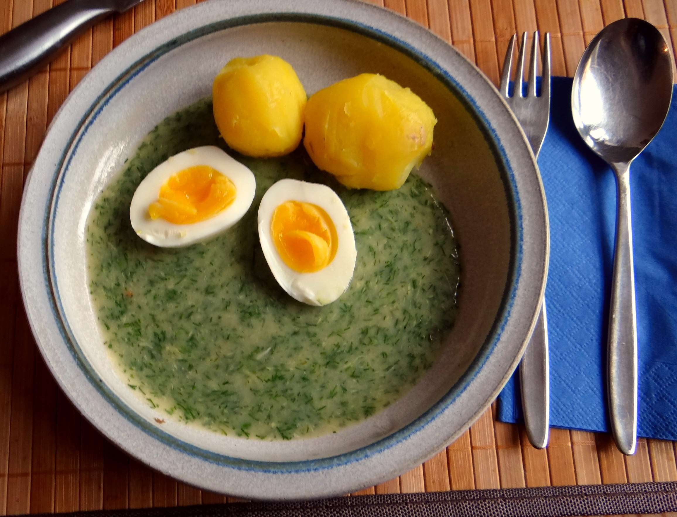 Dillsauce,Kartoffeln,Eier,Birnen (12)