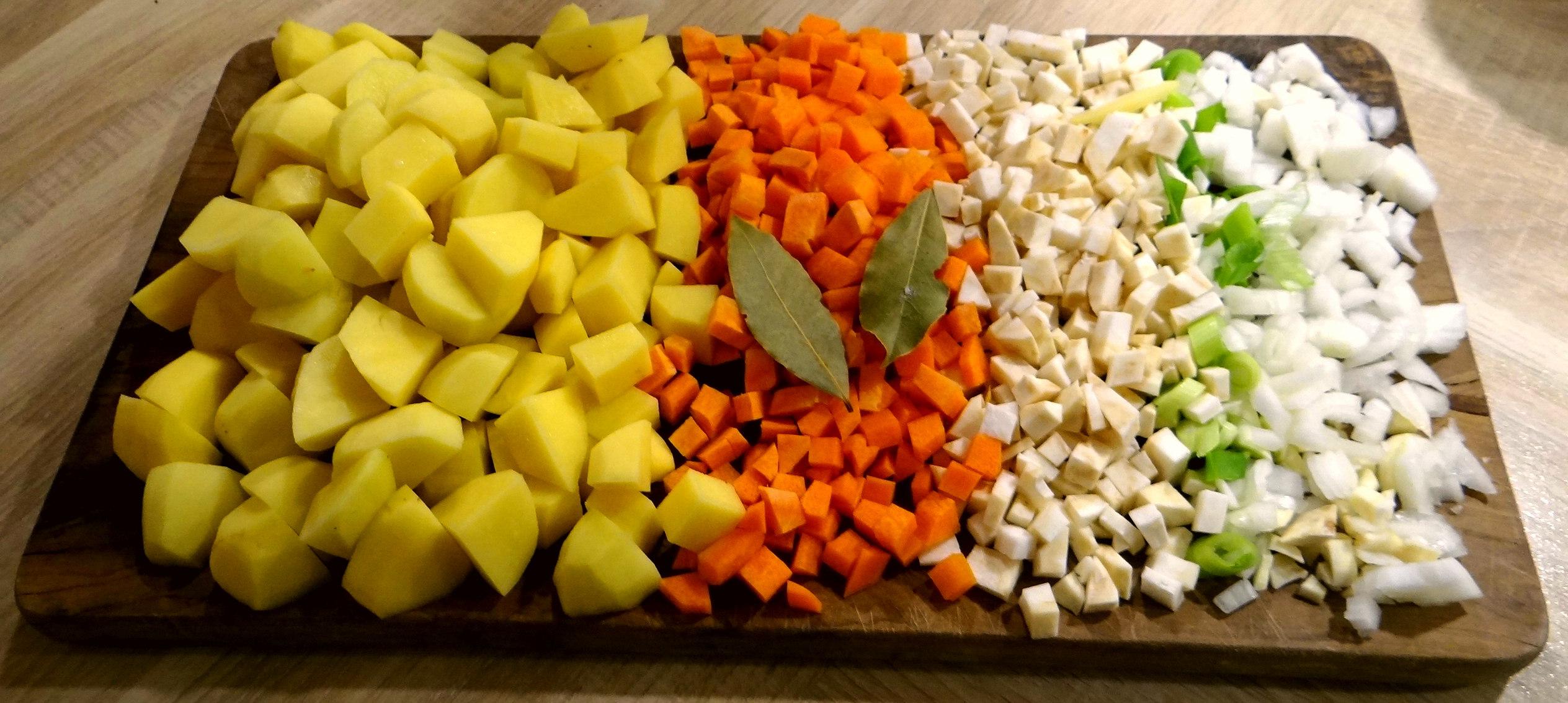 Kartoffelsuppe mit Garnelen (10)
