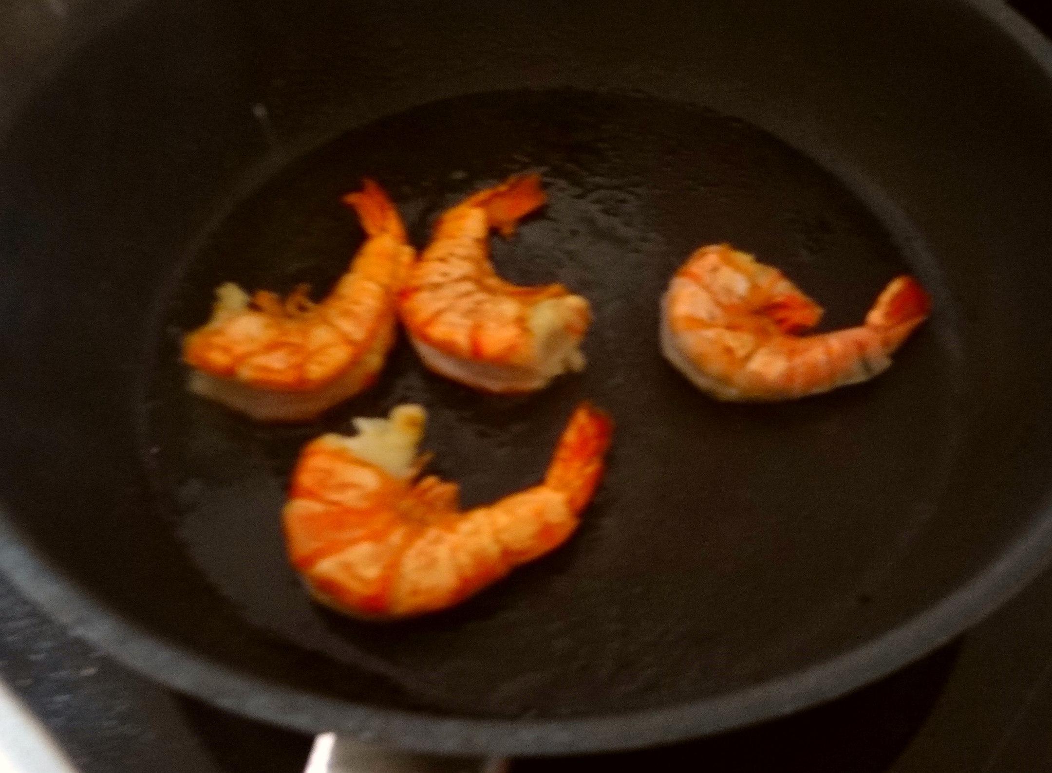 Kartoffelsuppe mit Garnelen (14)