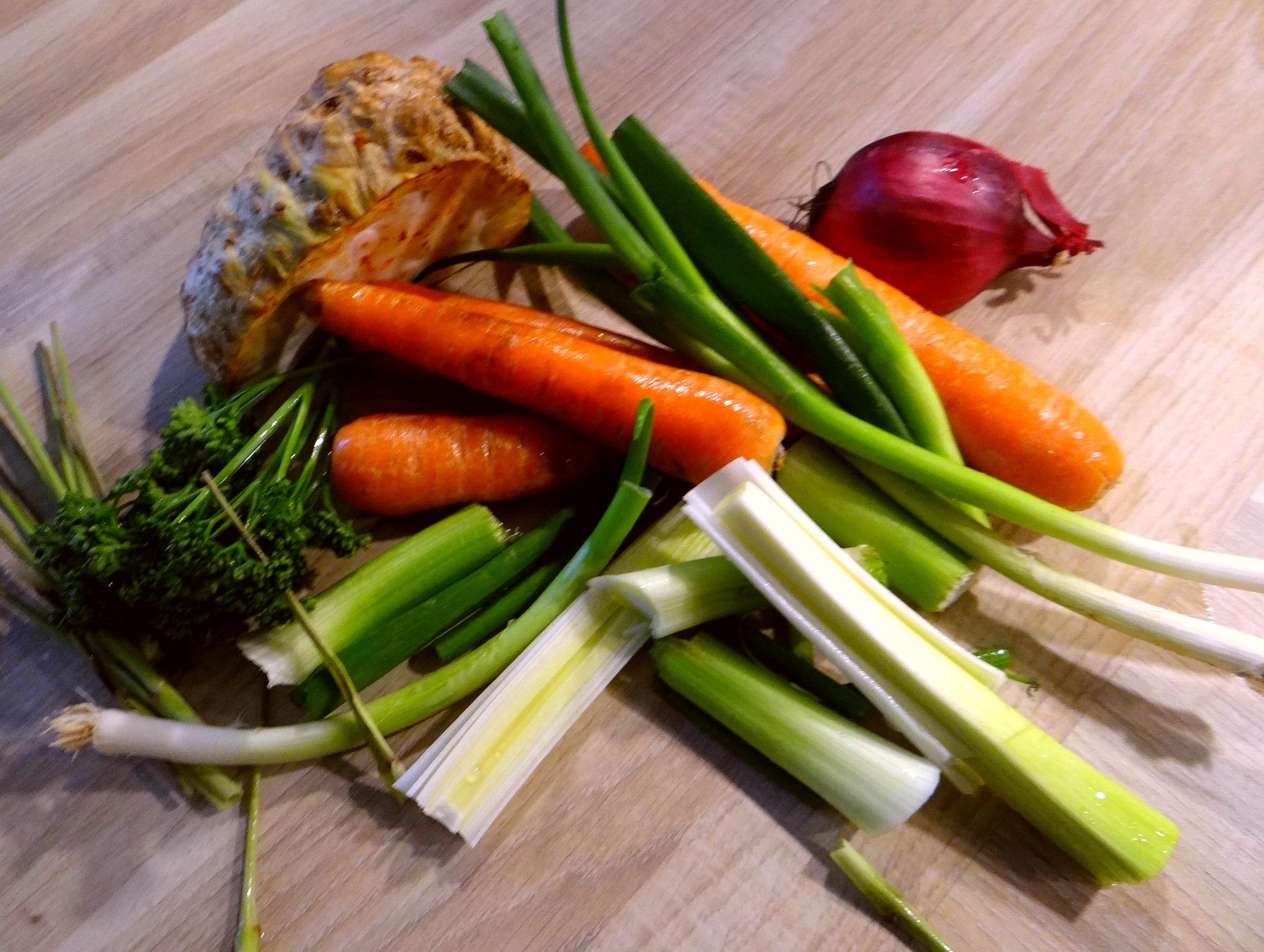 Kartoffelsuppe mit Garnelen (4)