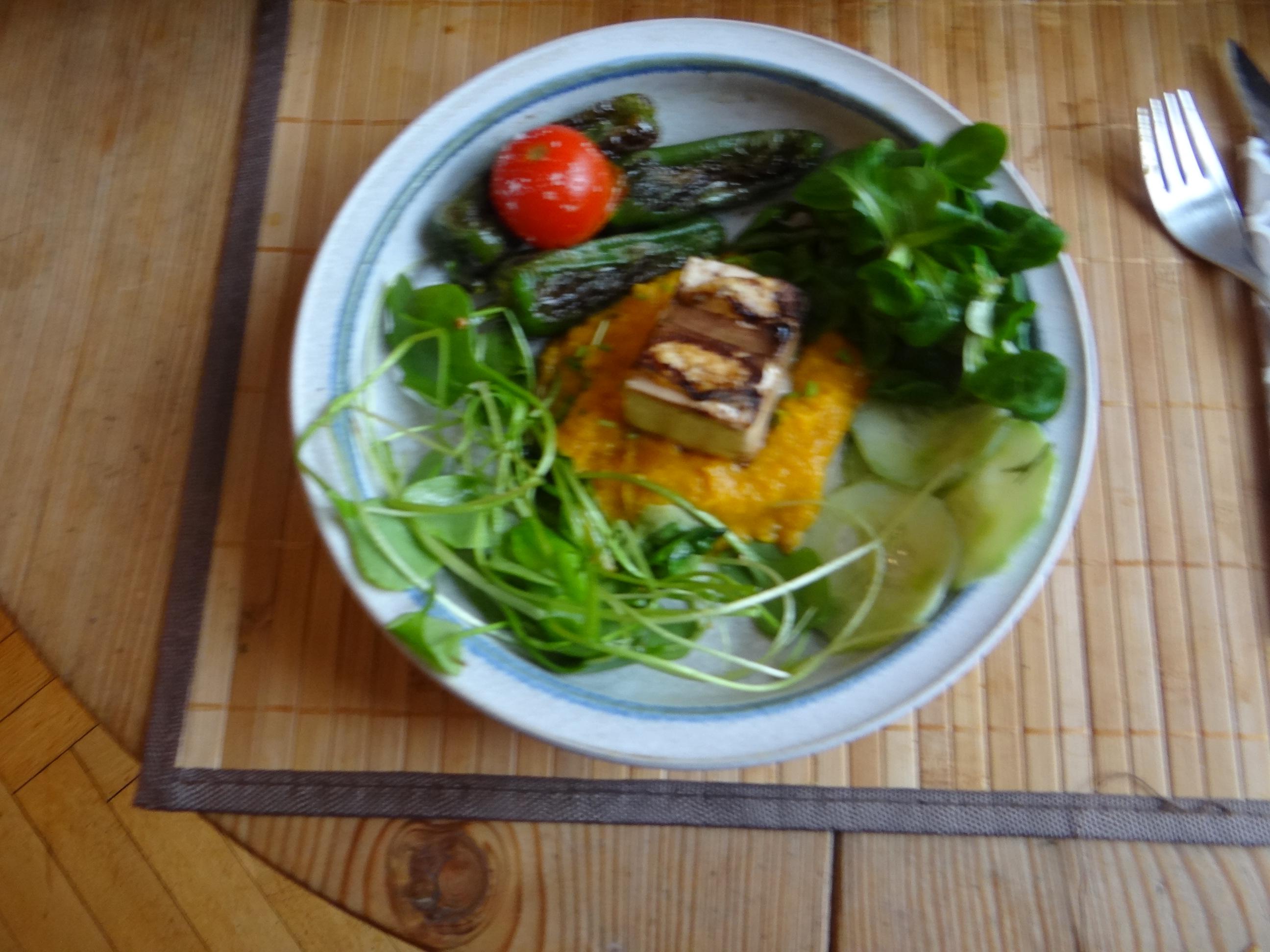 Kürbispüree,Tofu,Salate (14)
