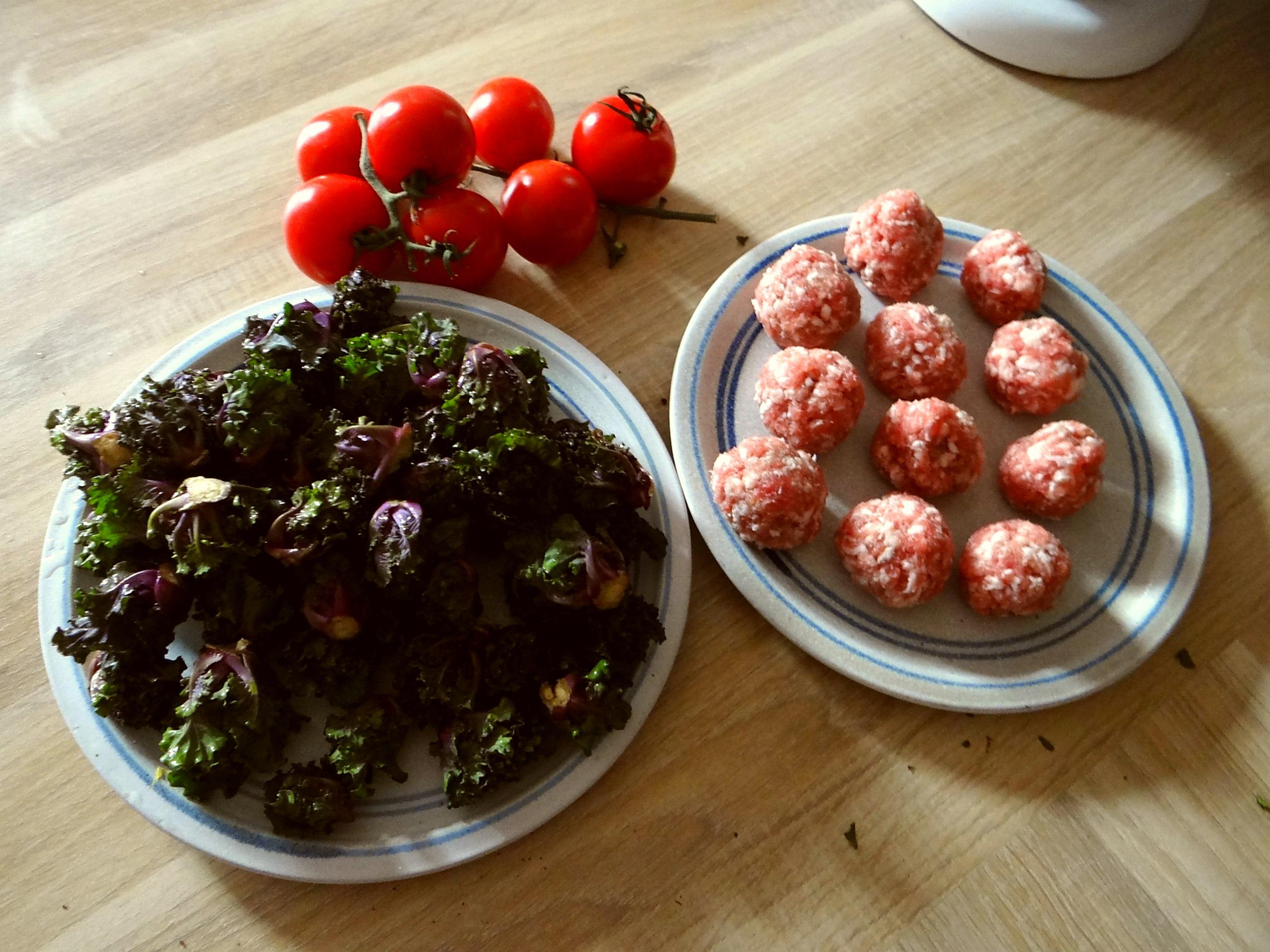 Kohlröschen,Tomaten,Mettbällchen (5)