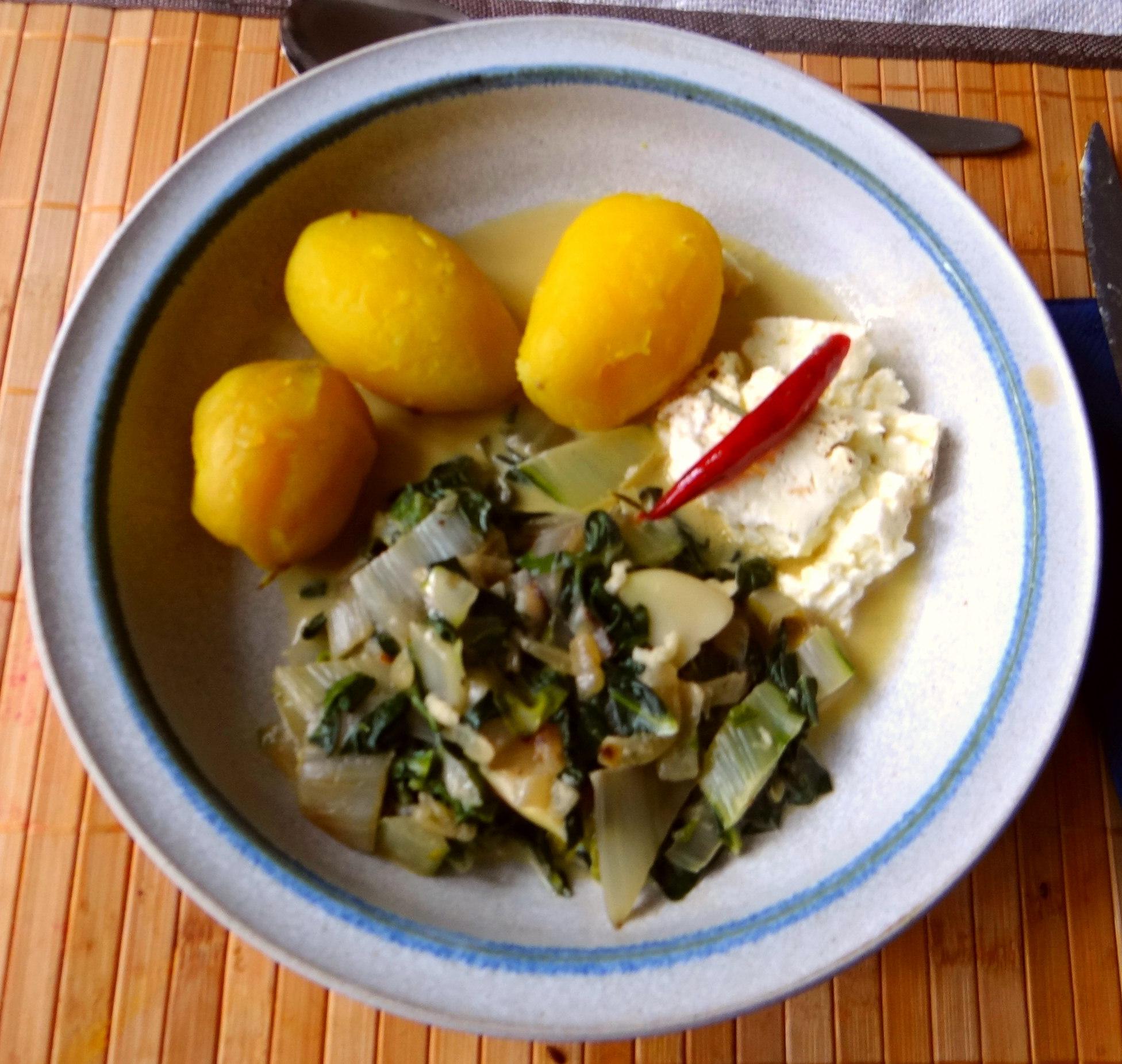 Mangold und Feta (1)