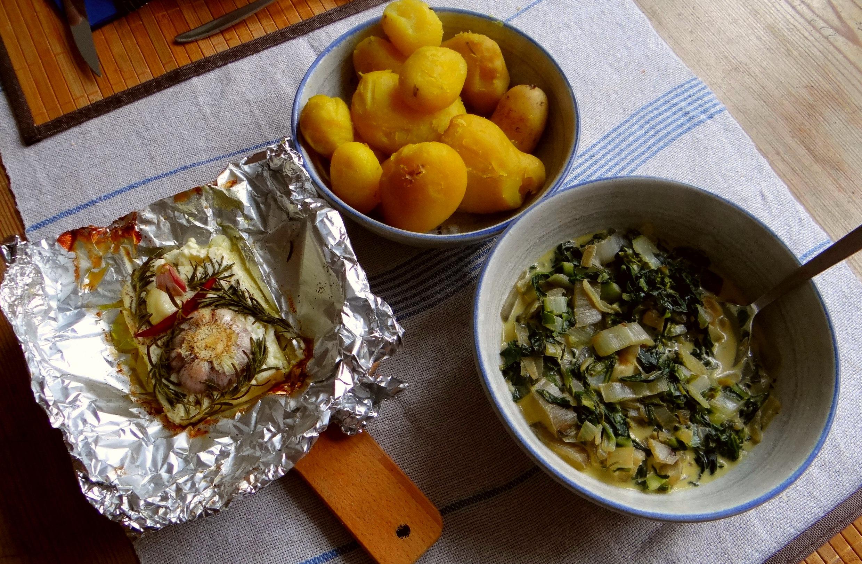 Mangold und Feta (3)