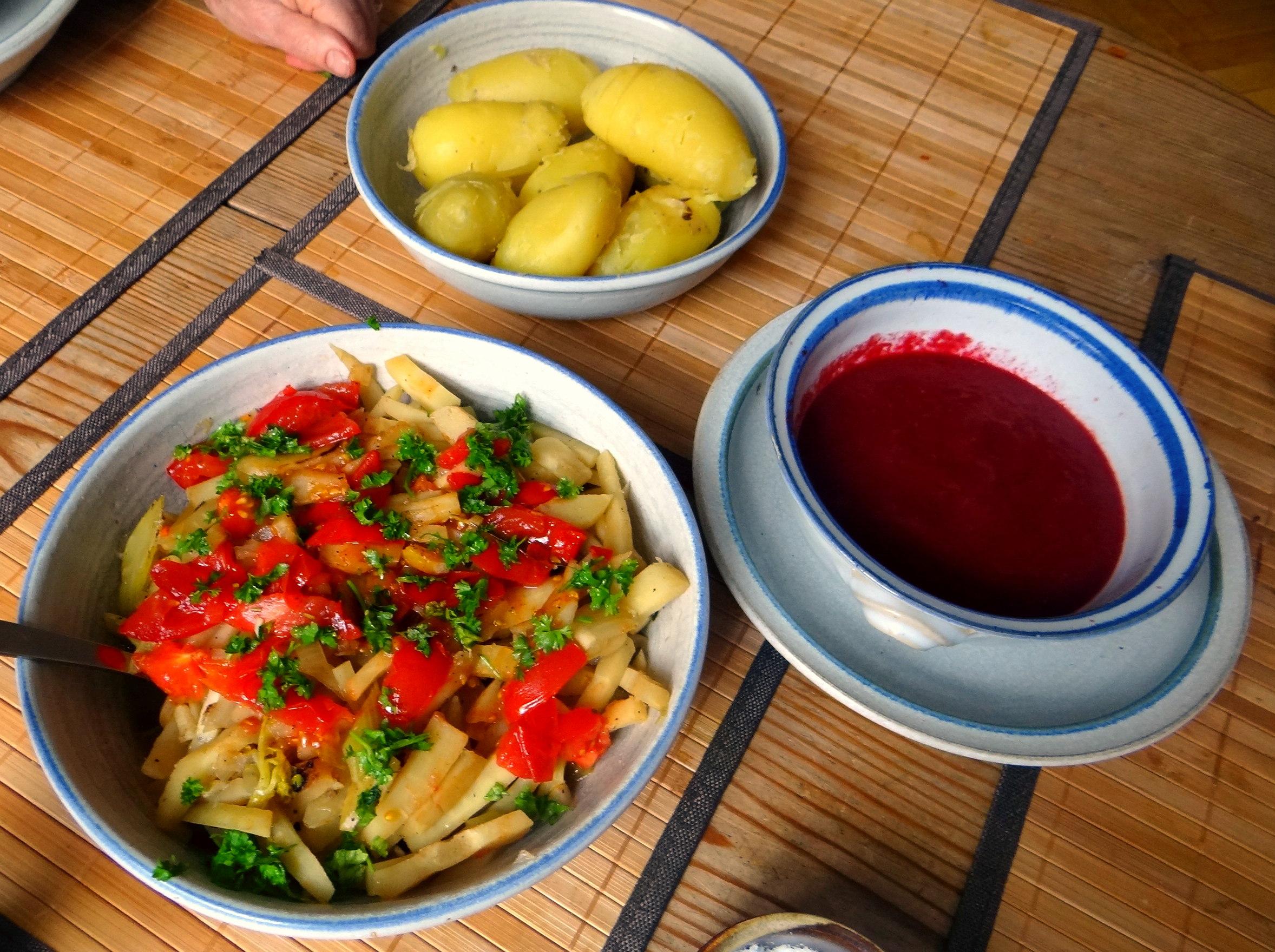 Pastinaken Gemüse,Kartoffeln, (4)