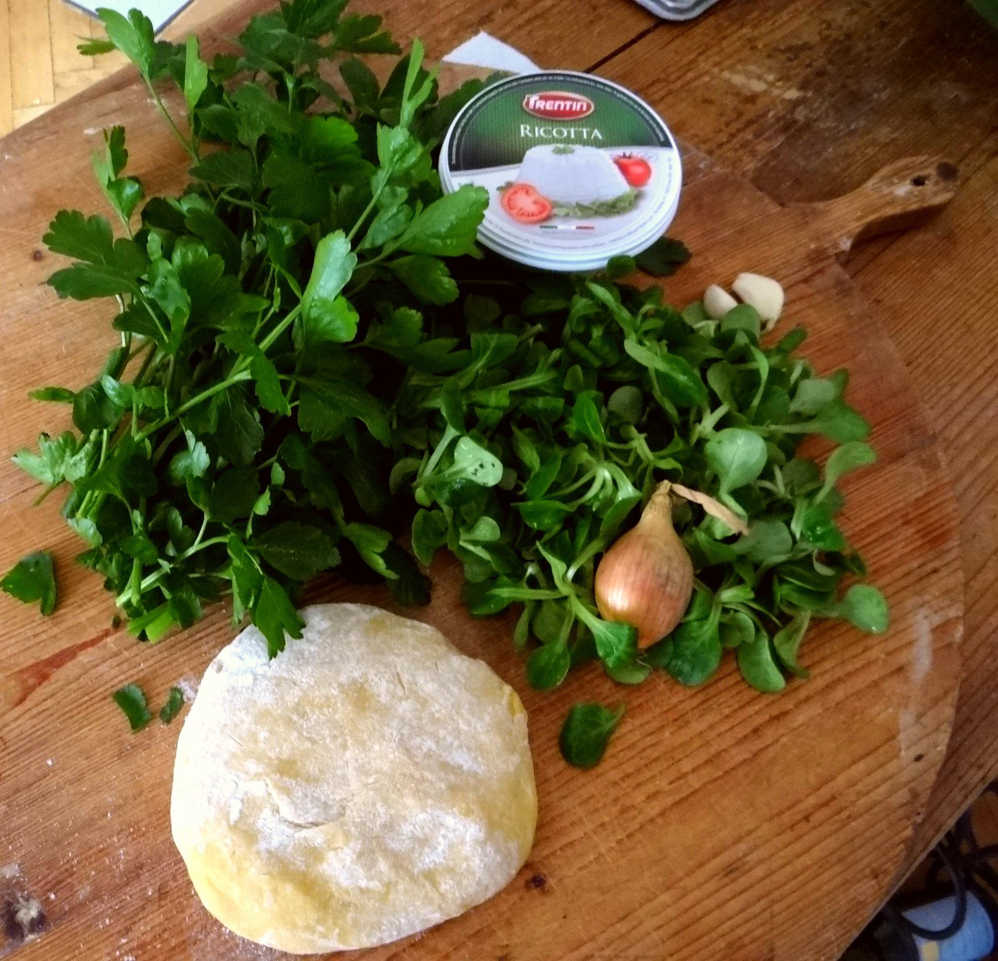 Ravioli,Pesto,fermentierter Knoblauch (6)