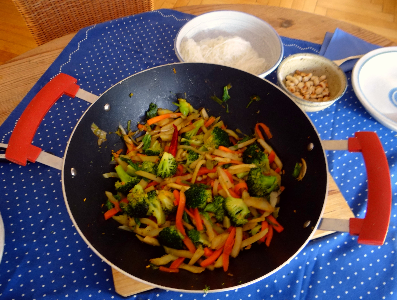 Asia Wokgemüse mit Glasnudeln (12)