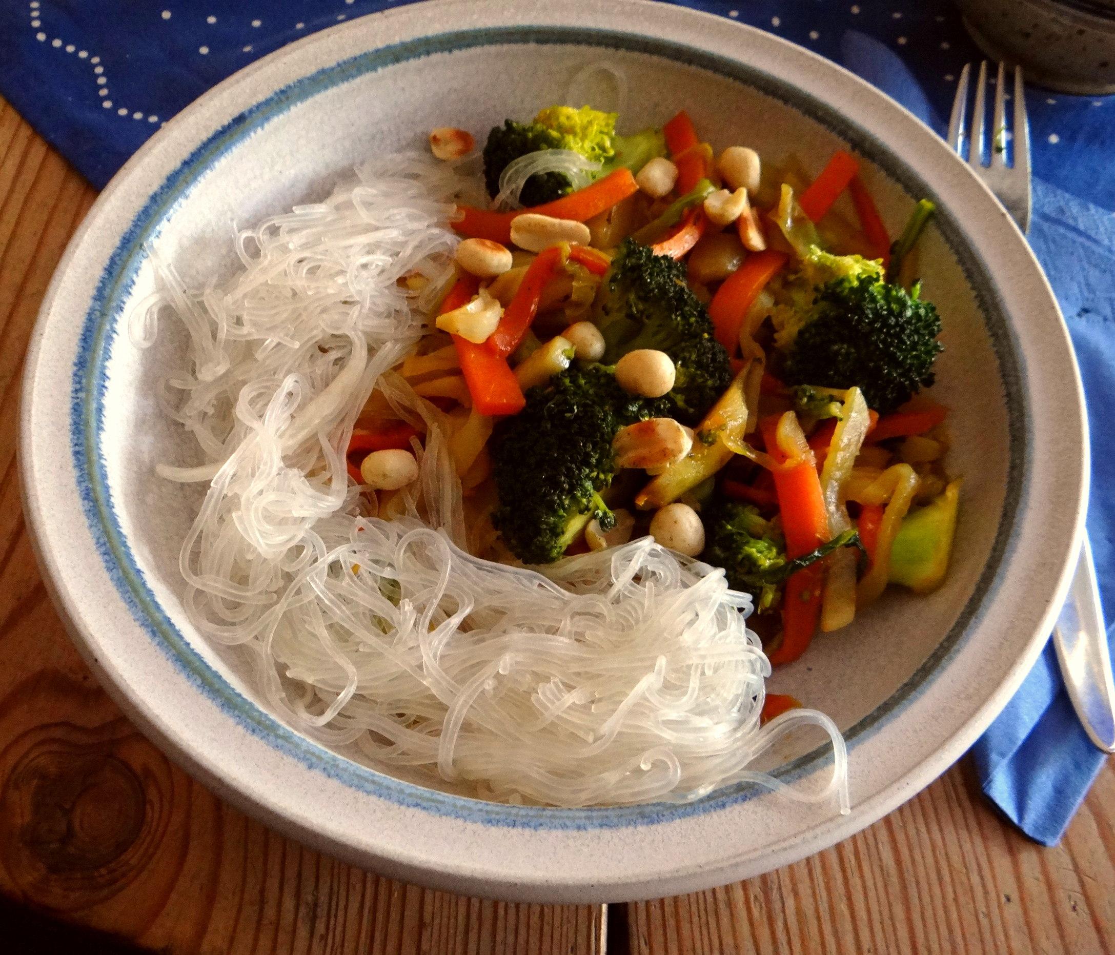 Asia Wokgemüse mit Glasnudeln (13)