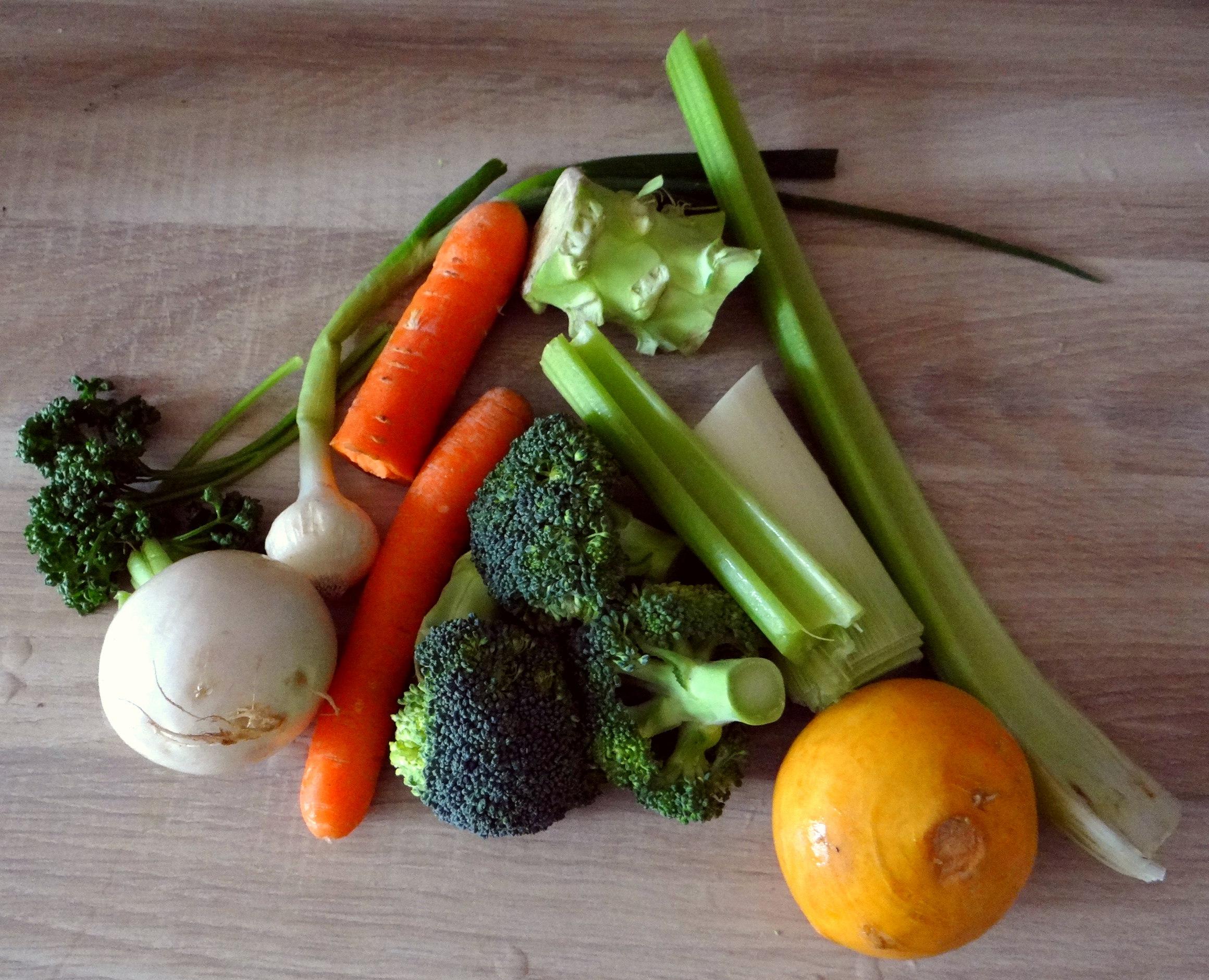 Gemüsesuppe mit weißen Bohnen (5)