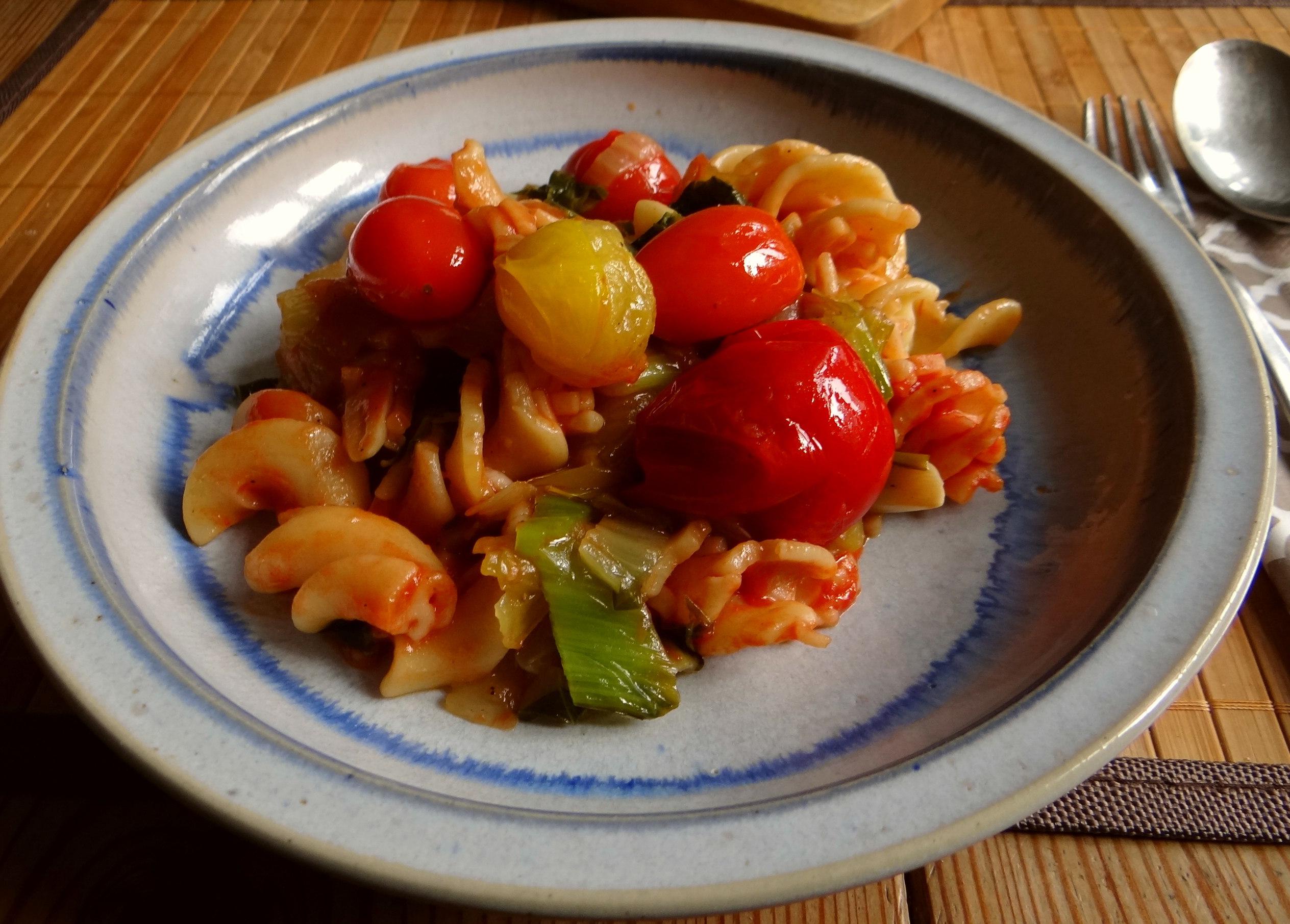 Pak Choy,Tomaten Spirelli (11)