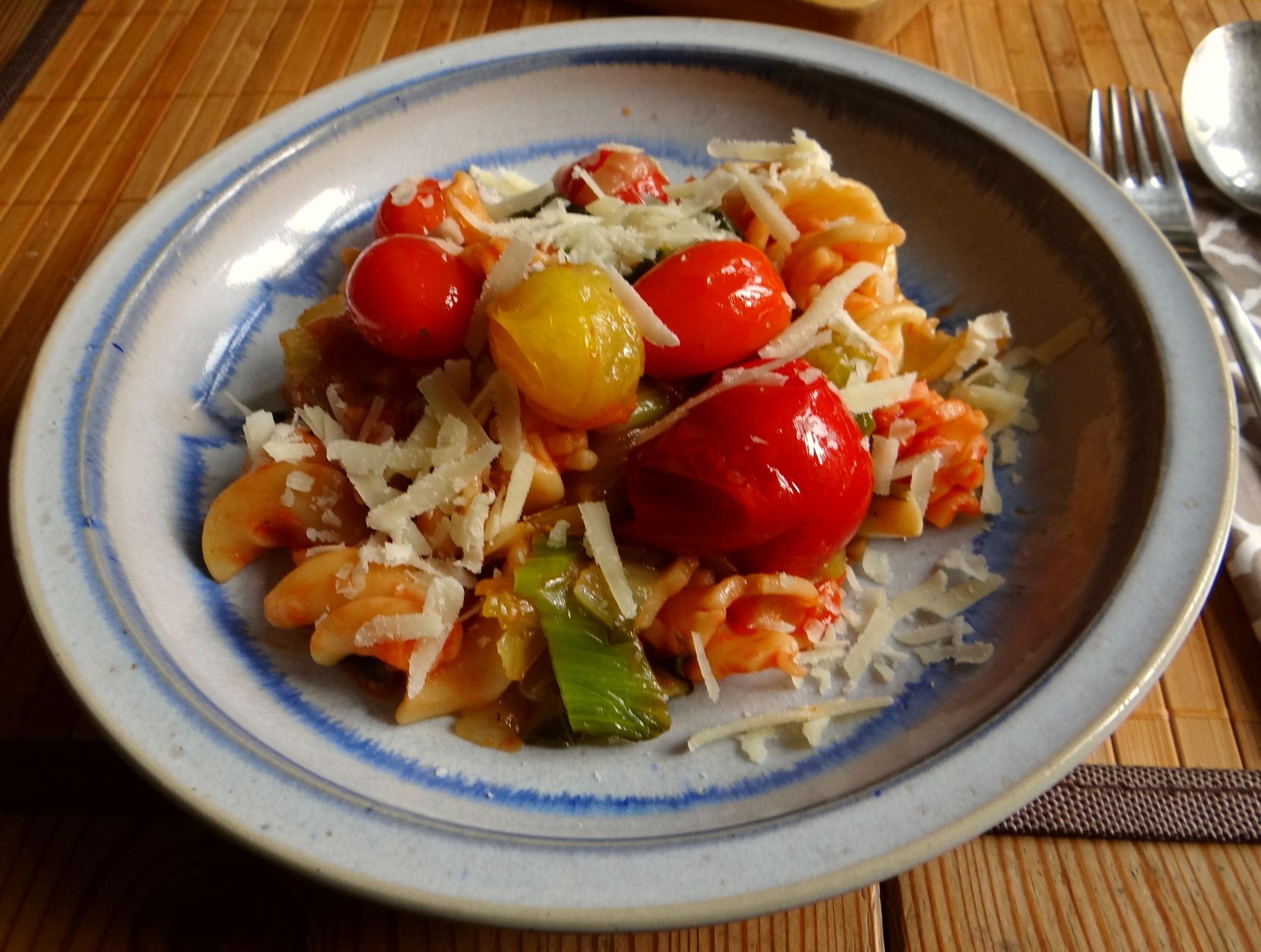 Pak Choy,Tomaten Spirelli (12)