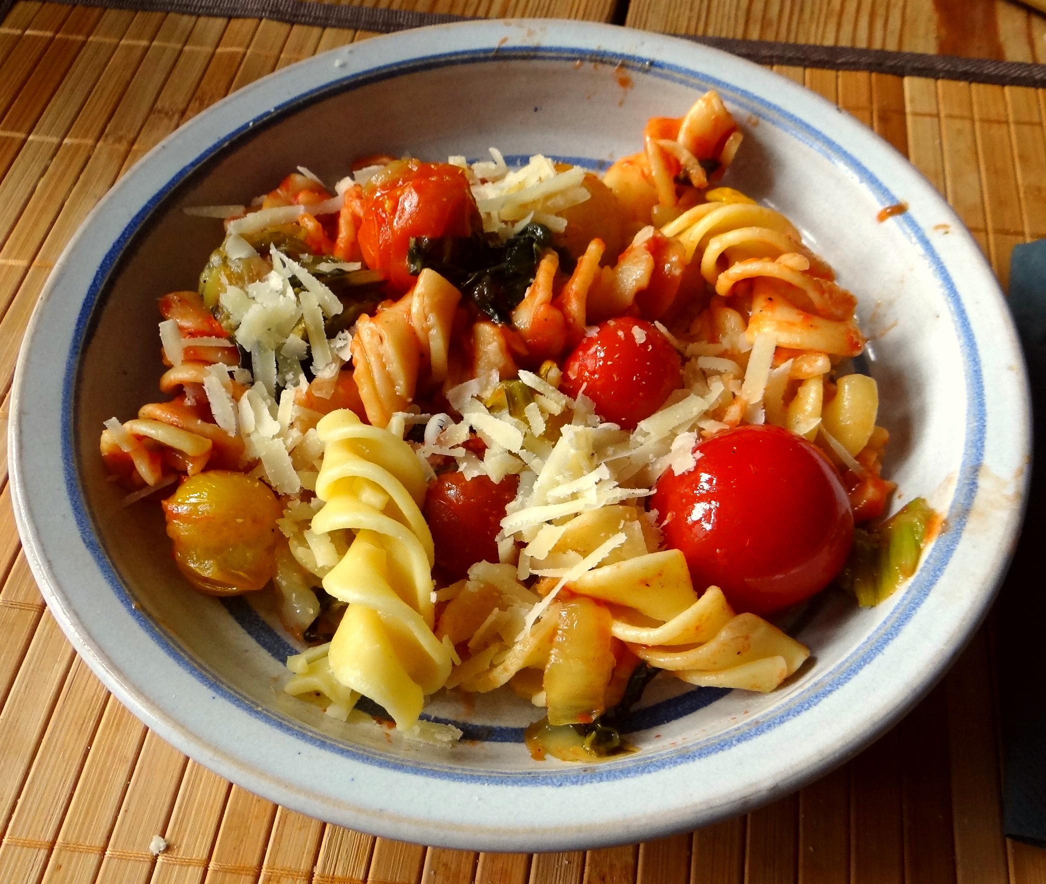 Pak Choy,Tomaten Spirelli (13)