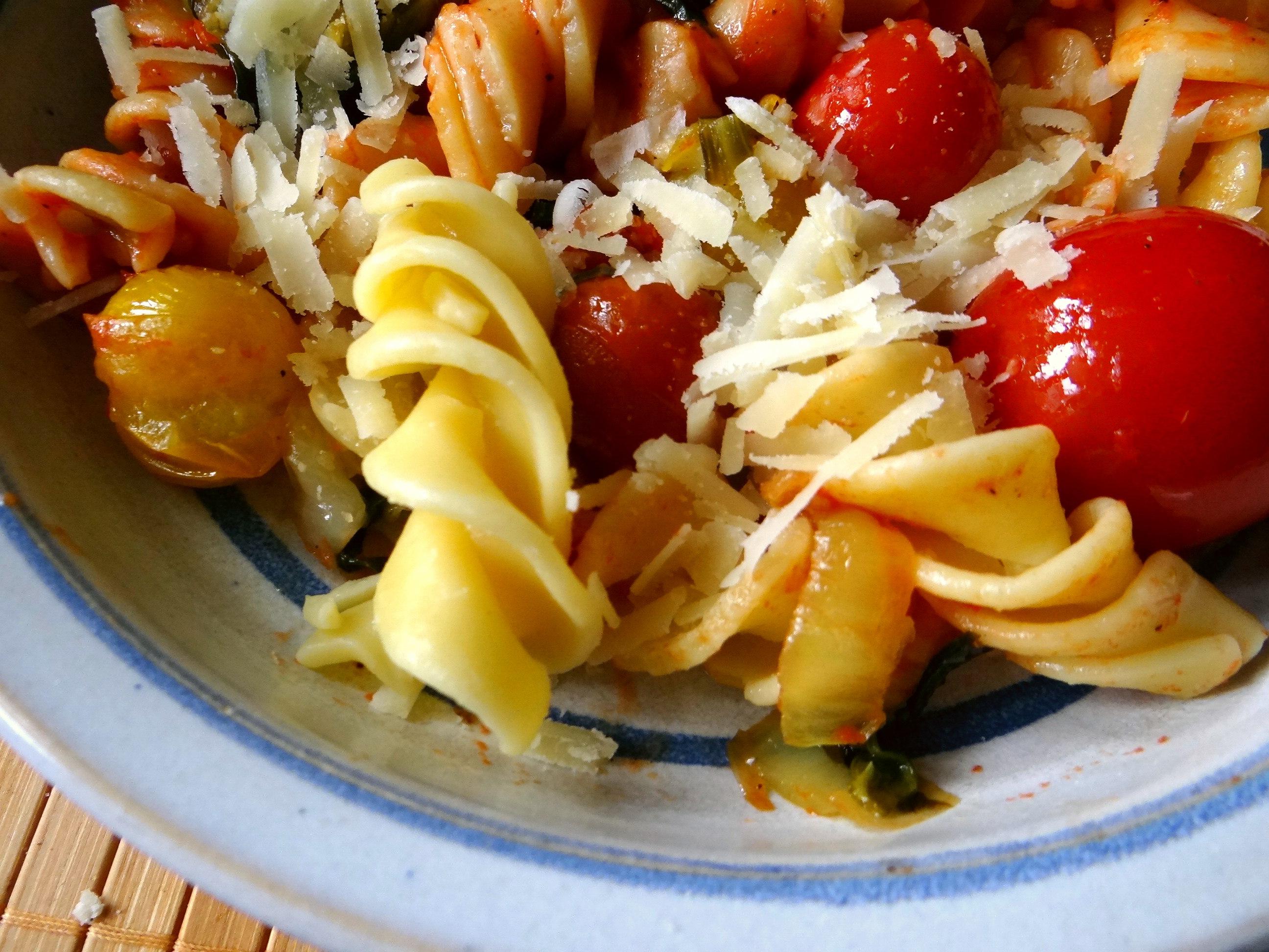 Pak Choy,Tomaten Spirelli (3)