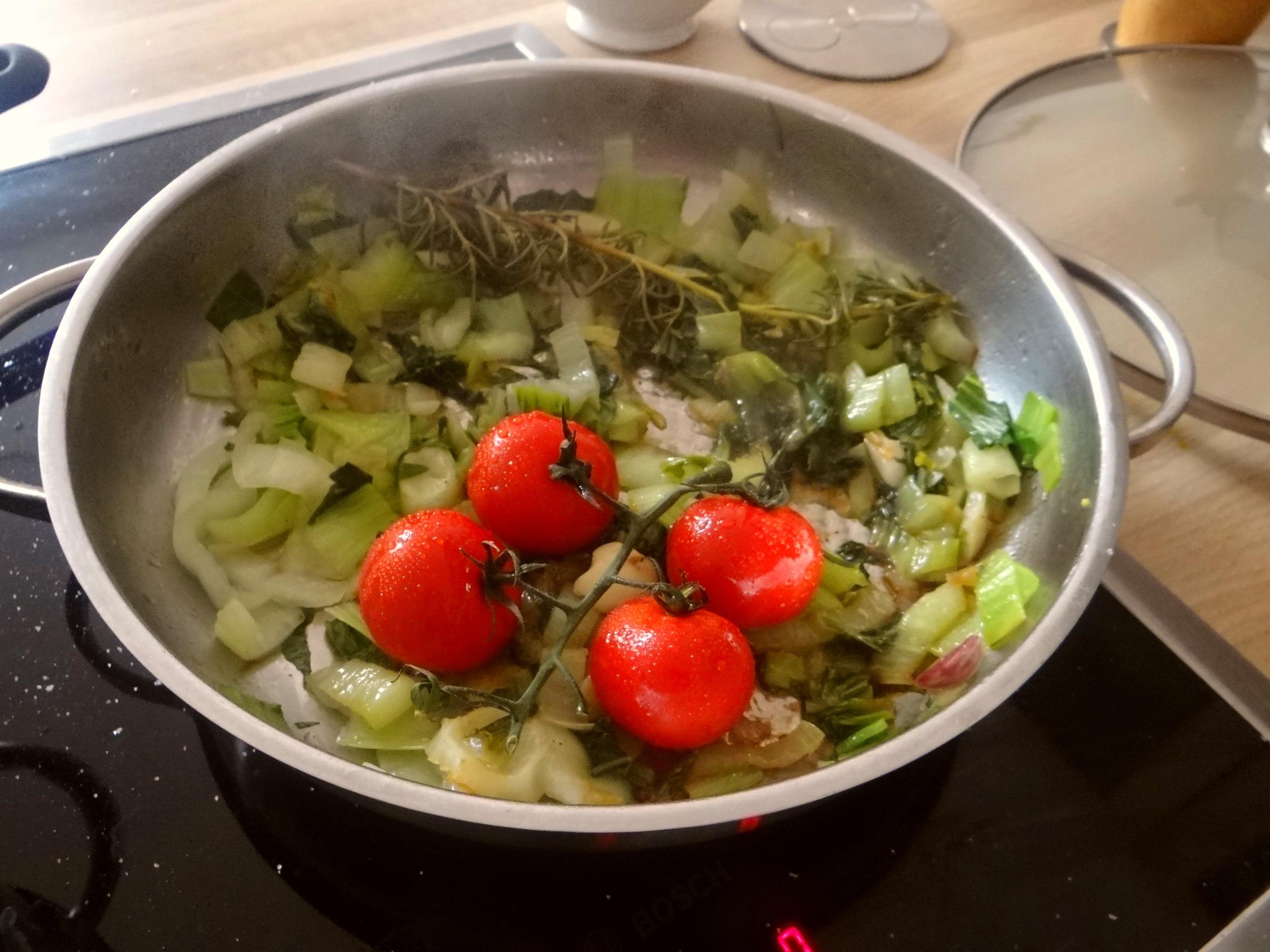 Pak Choy,Tomaten Spirelli (8)