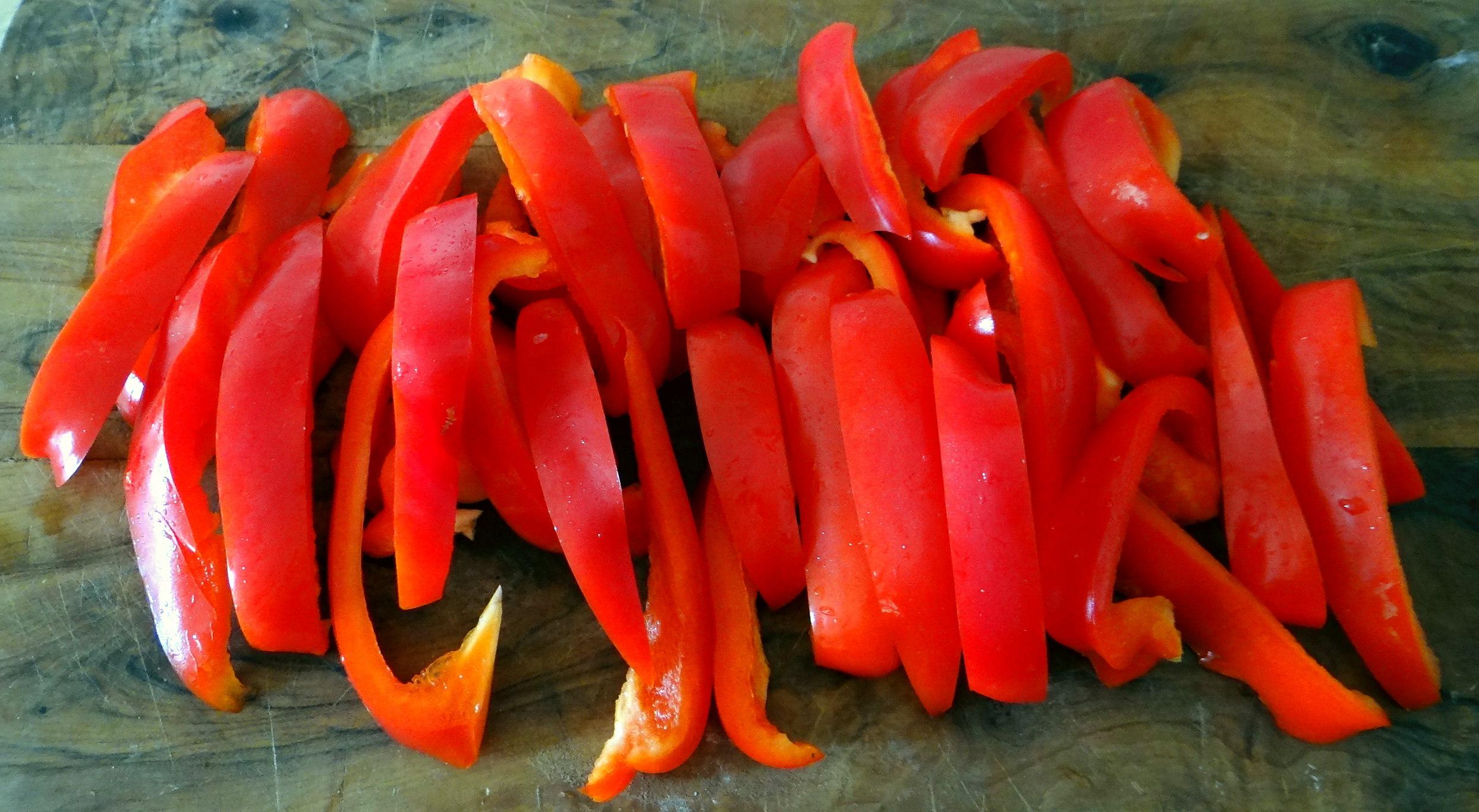 Paprika mit Gnocchi und Tomatensauce (3)