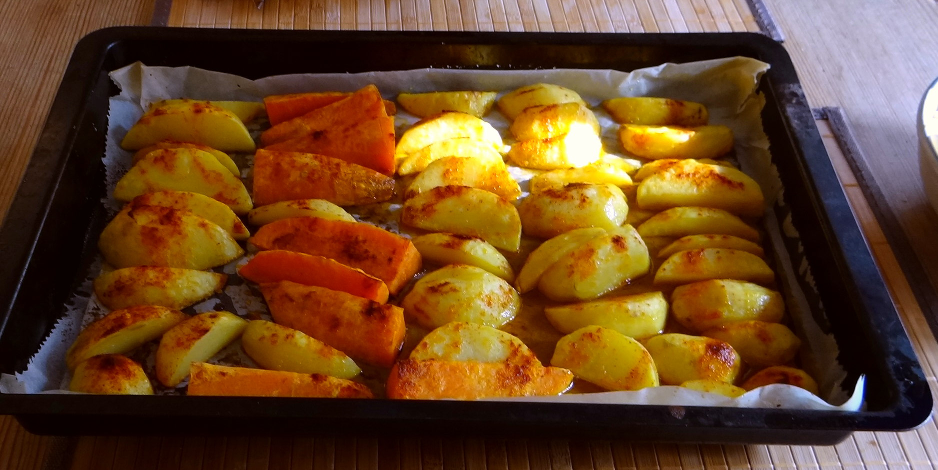 Pastinaken,Ofenkartoffeln,Obstsalat (9)