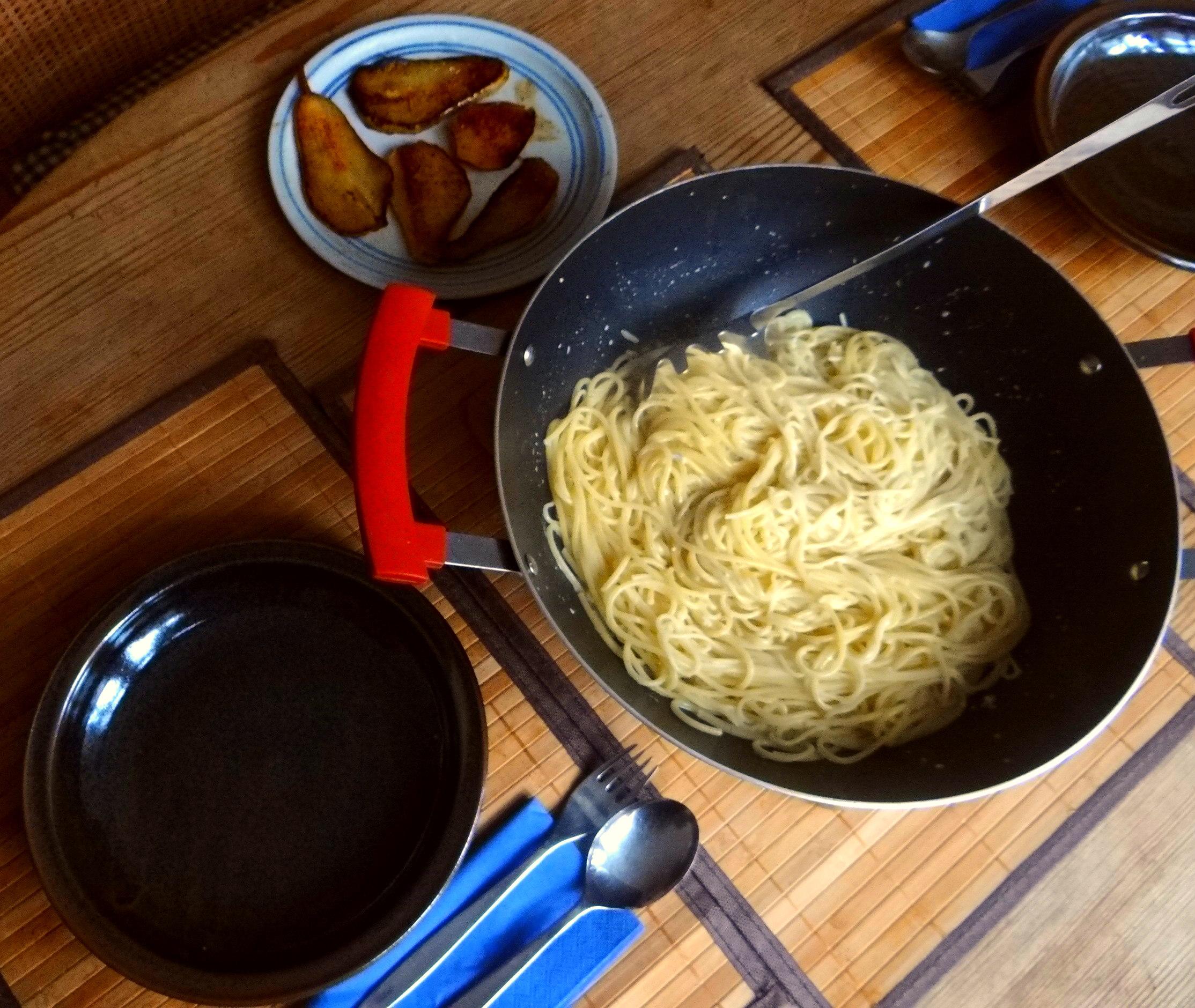 Spaghetti mit Gorgonzolasauce (4)