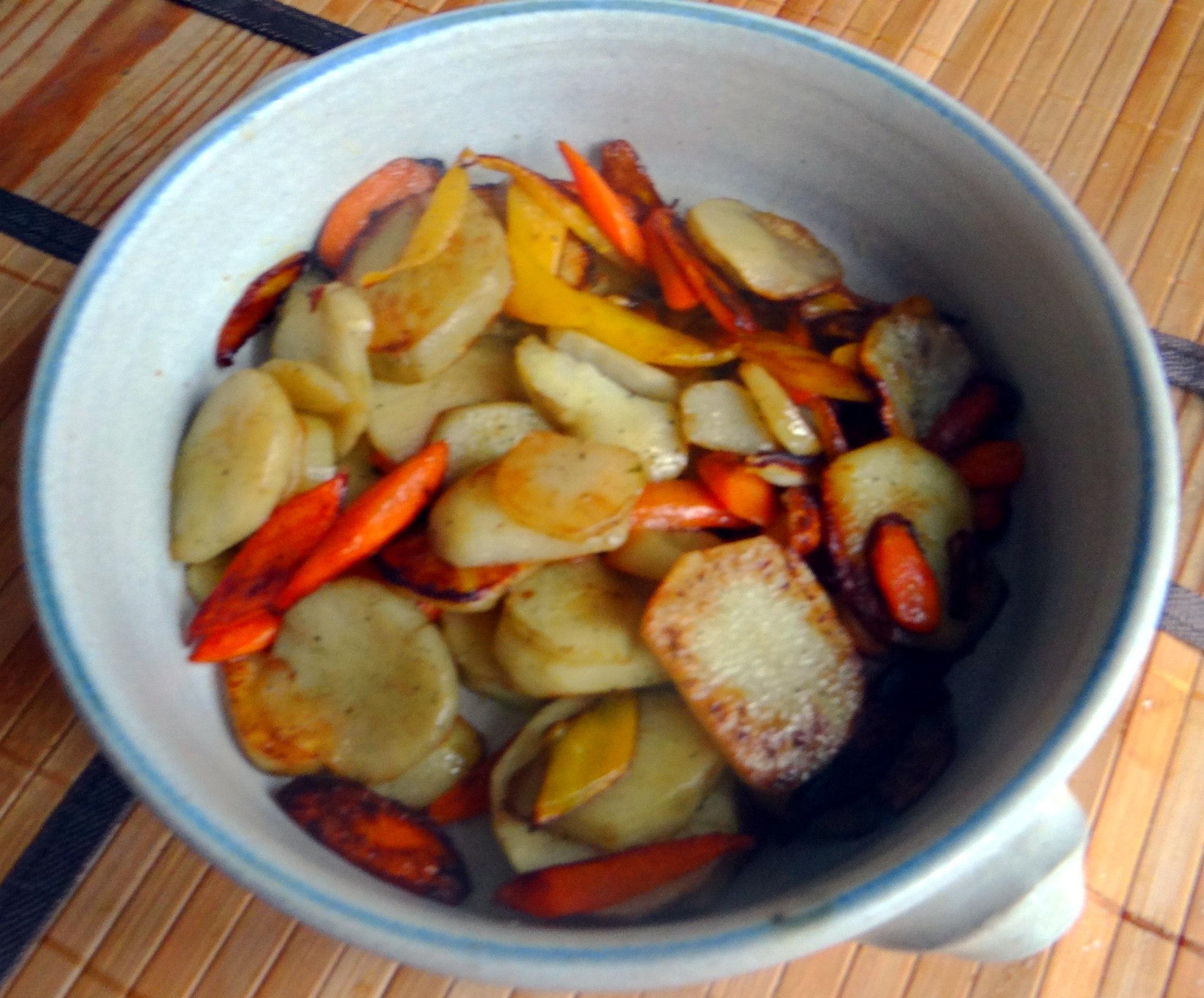 Topinambur und Petersilien Sauce (11)