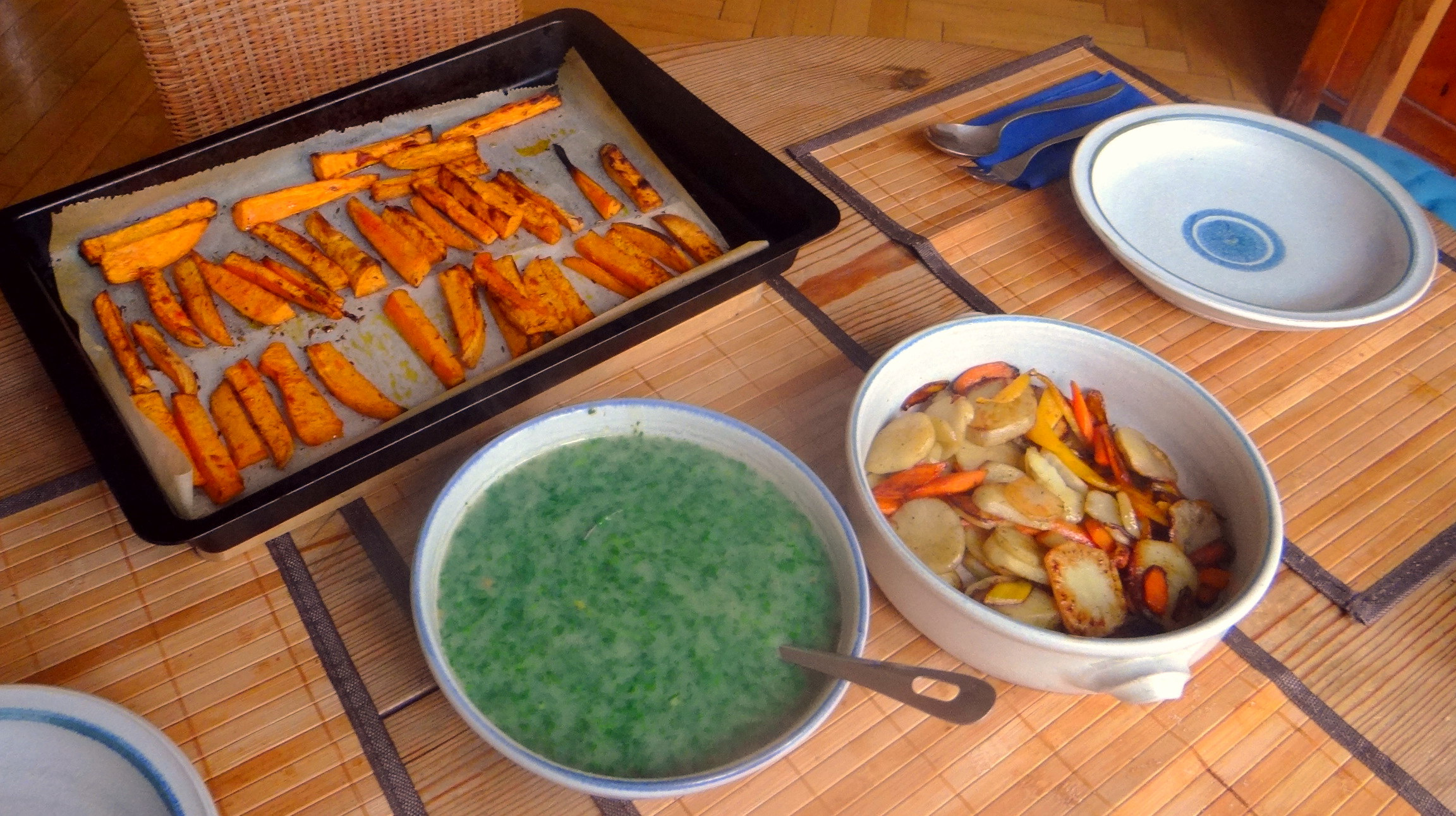 Topinambur und Petersilien Sauce (13)