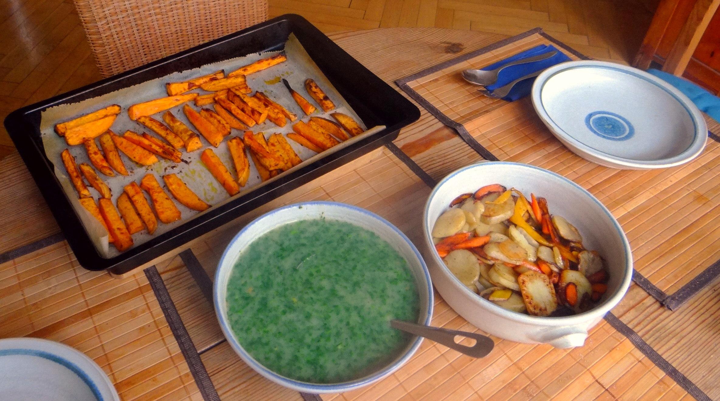 Topinambur und Petersilien Sauce (3)
