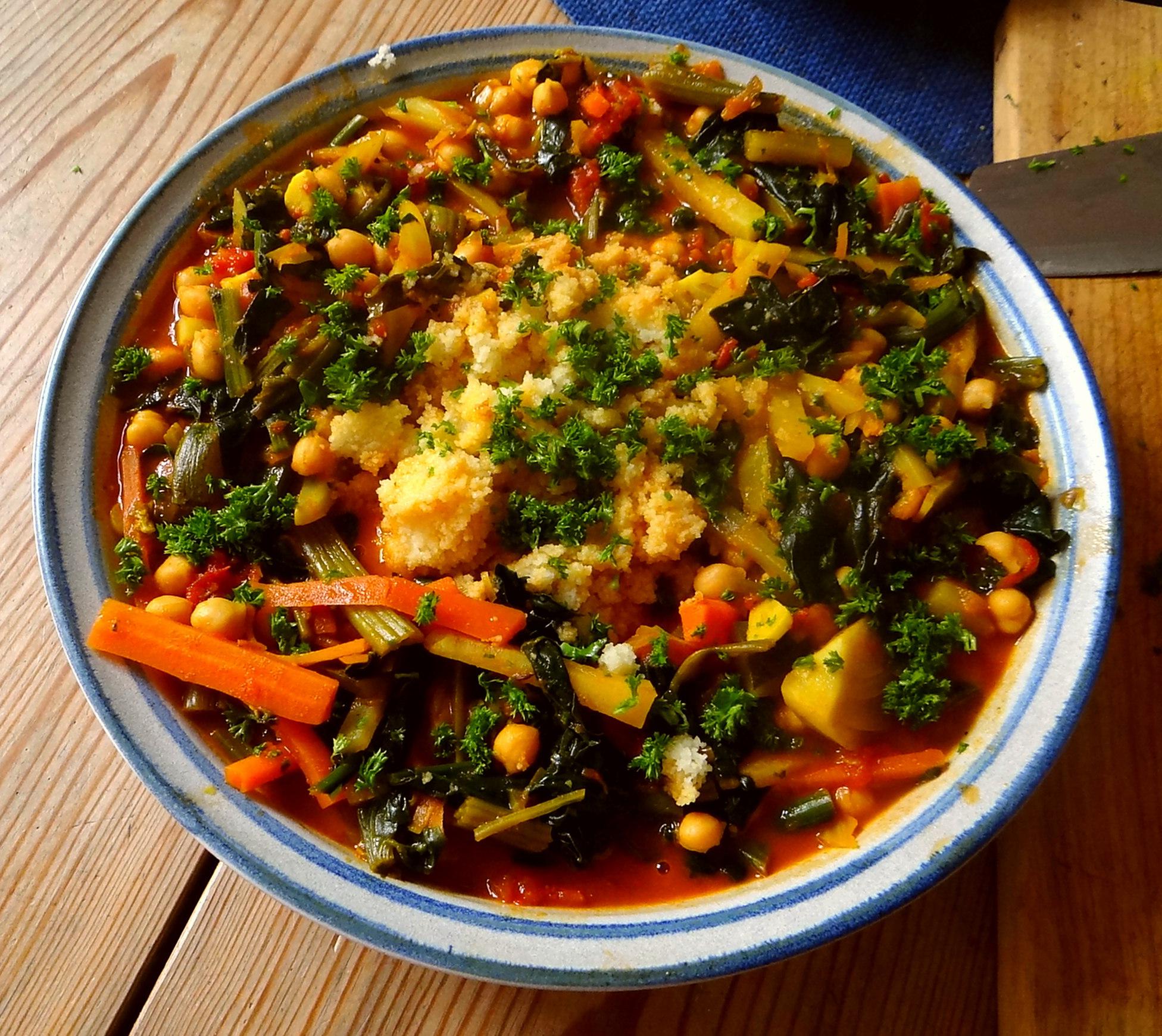 Gemüse Couscous (3)