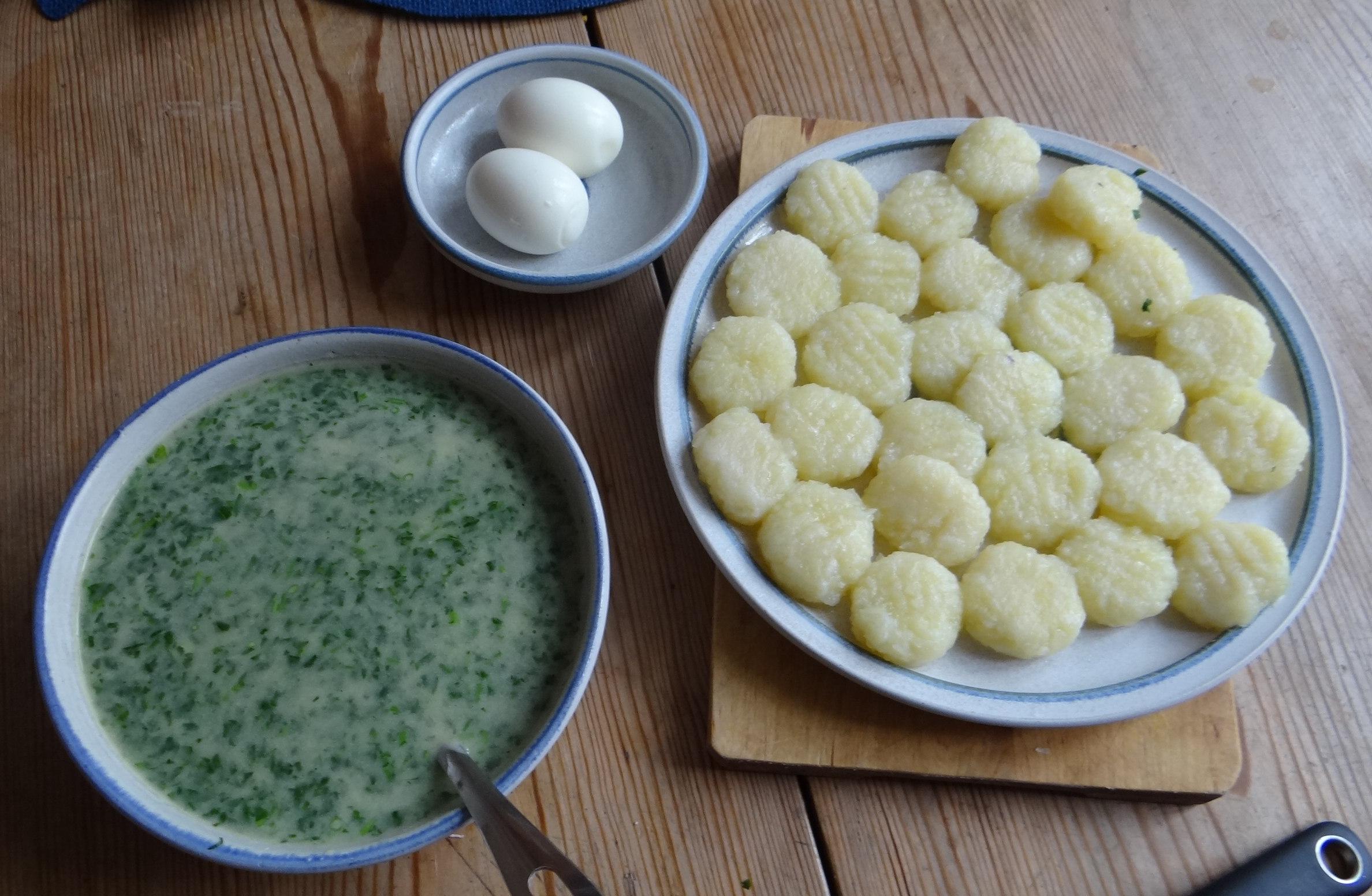 Gnocchi mit Petersiliensauce (10)