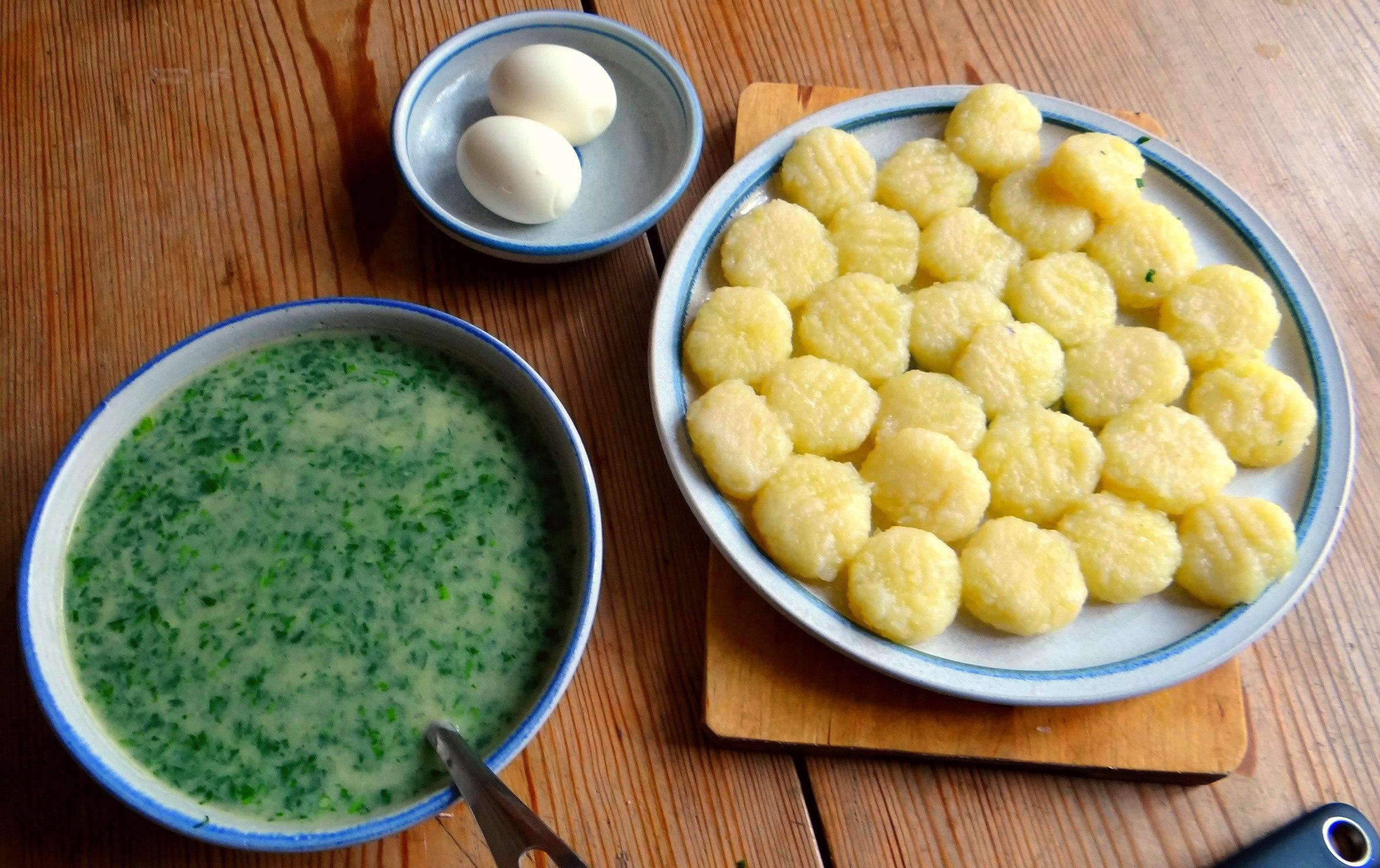 Gnocchi mit Petersiliensauce (4)