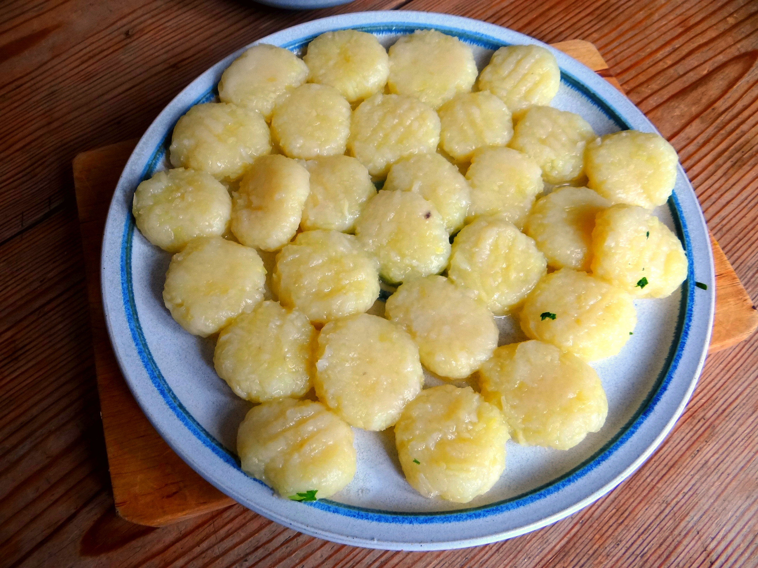 Gnocchi mit Petersiliensauce (9)