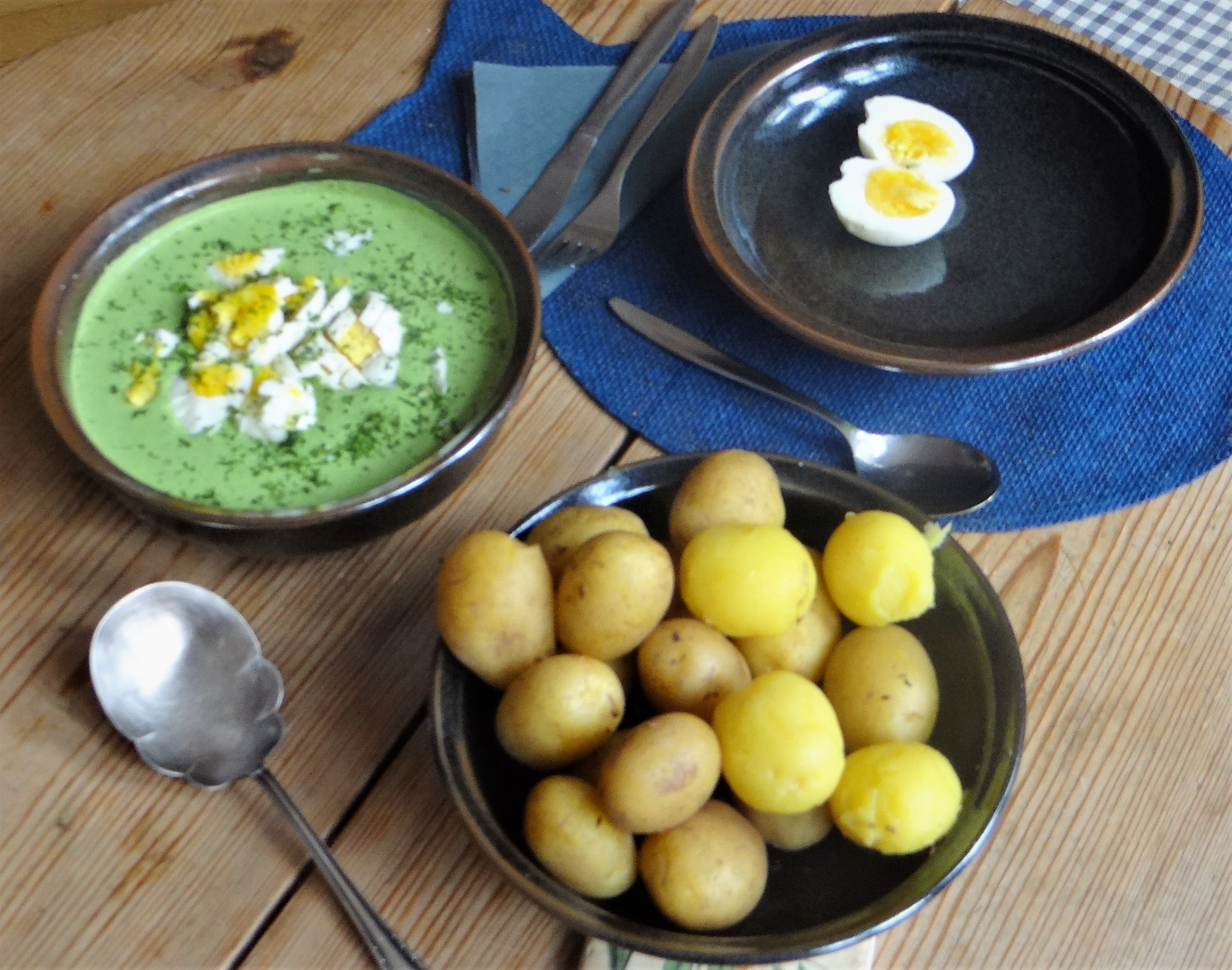 Grüne Soße mit Pellkartoffeln (3)