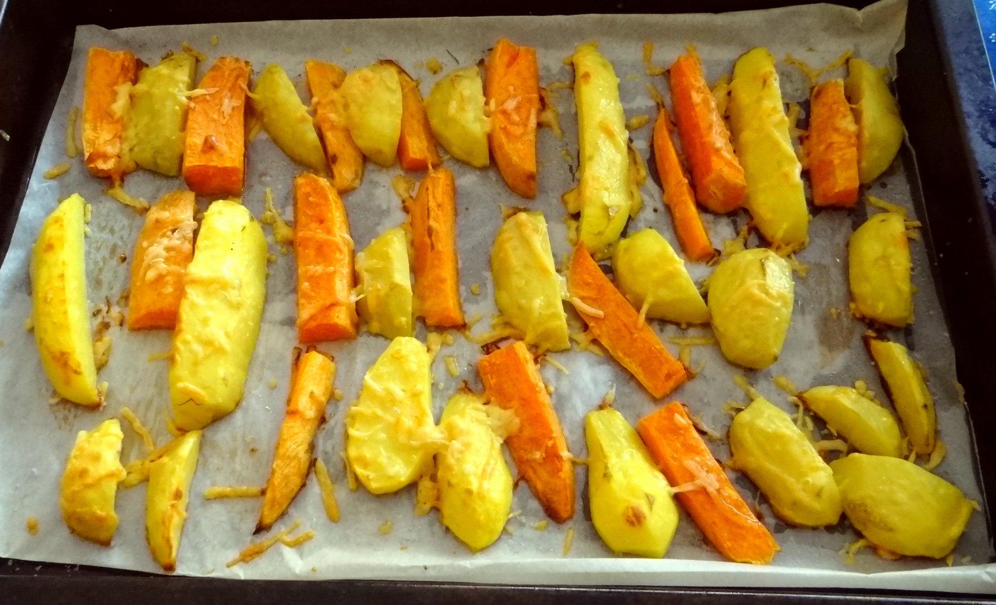 Israelischer Salat und Ofenkartoffeln (11)