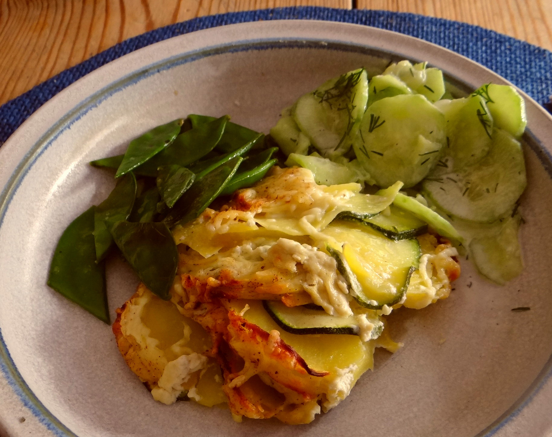 Kartoffel-Zucchini Gratin (1)