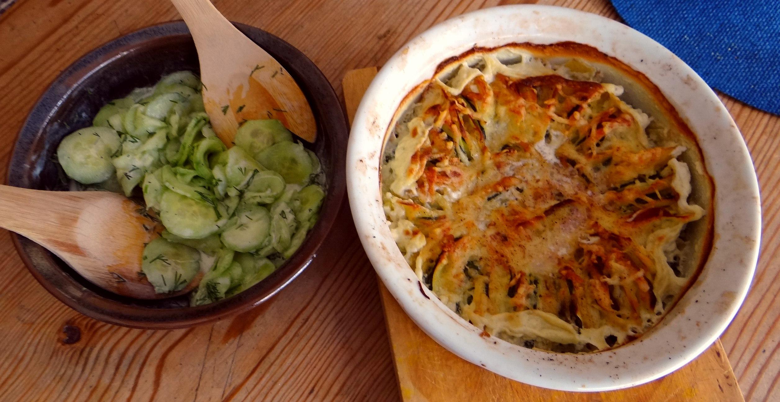 Kartoffel-Zucchini Gratin (12)