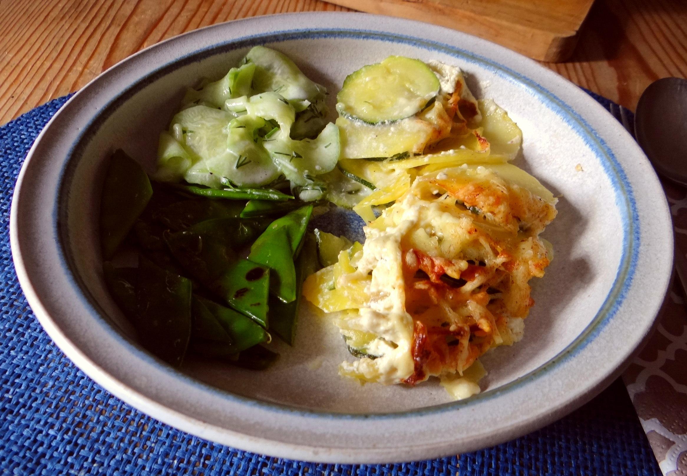 Kartoffel-Zucchini Gratin (15)