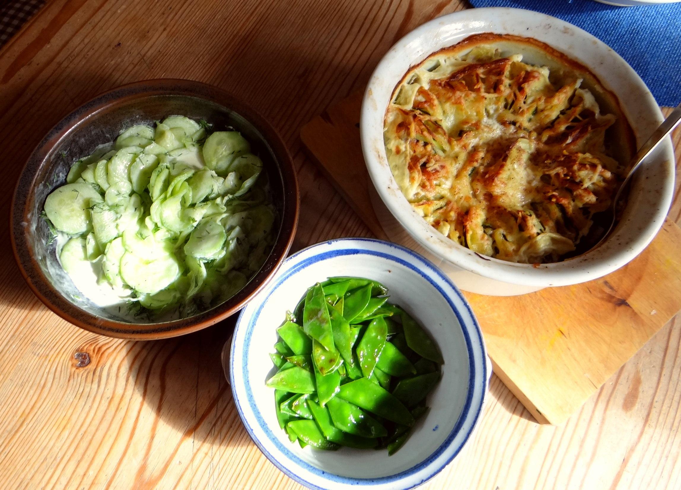 Kartoffel-Zucchini Gratin (3)