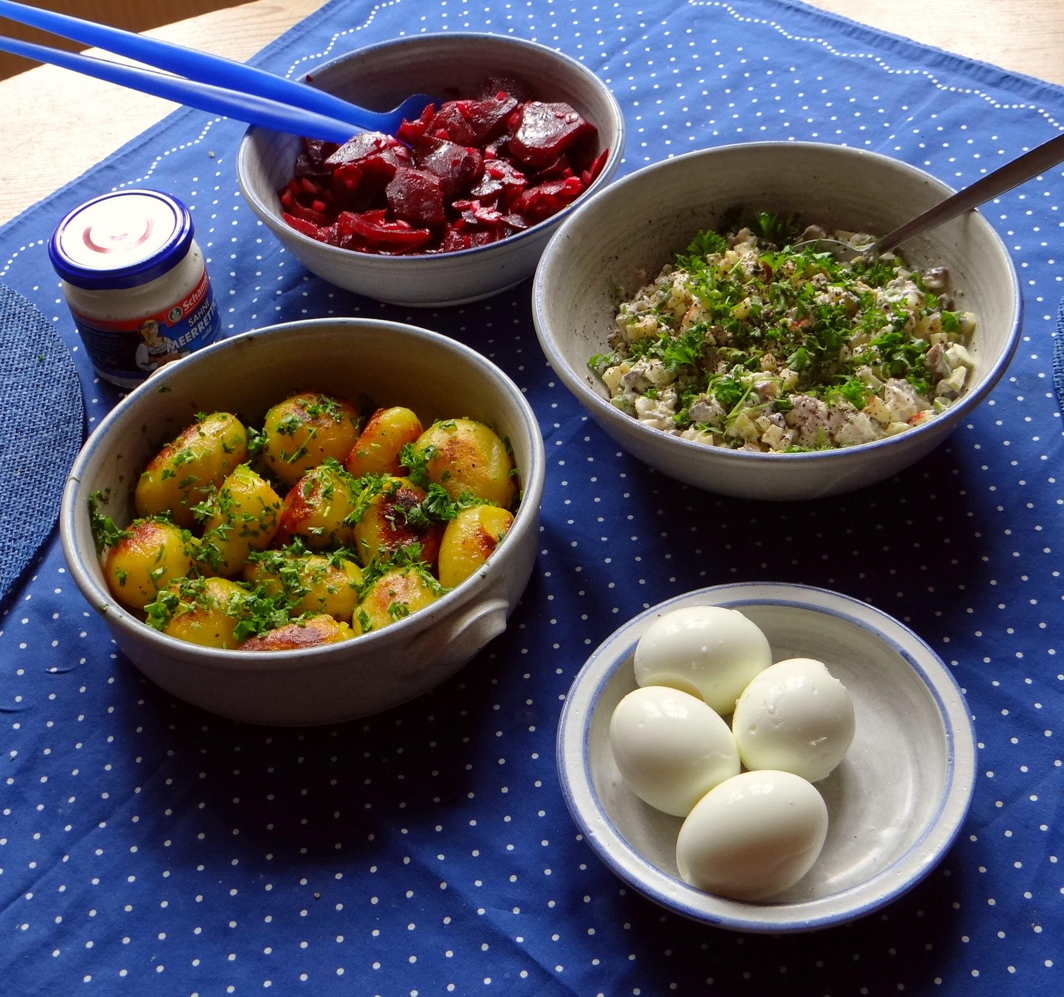 Matjes Tatar und Petersilienkartoffeln (11)