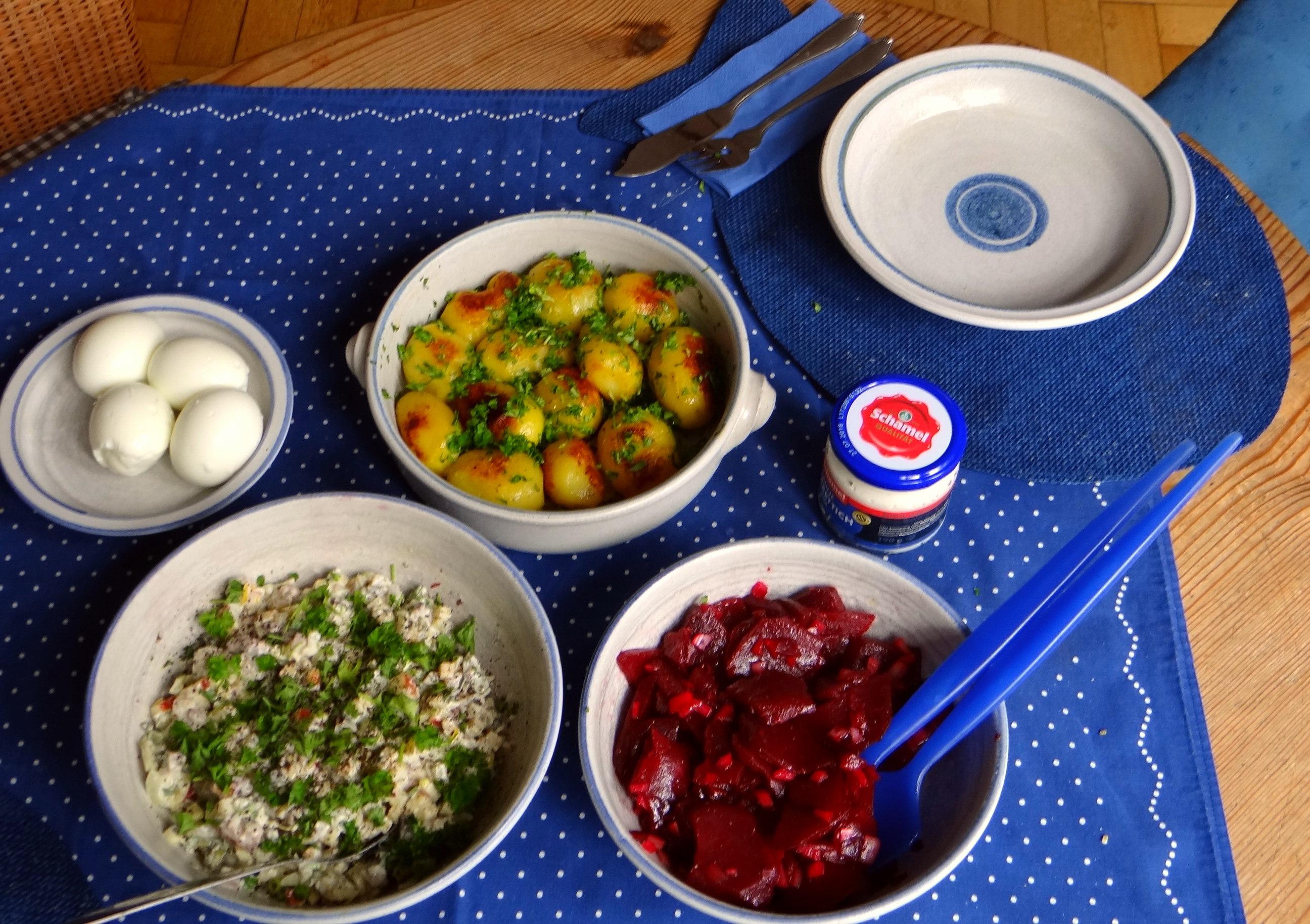 Matjes Tatar und Petersilienkartoffeln (4)