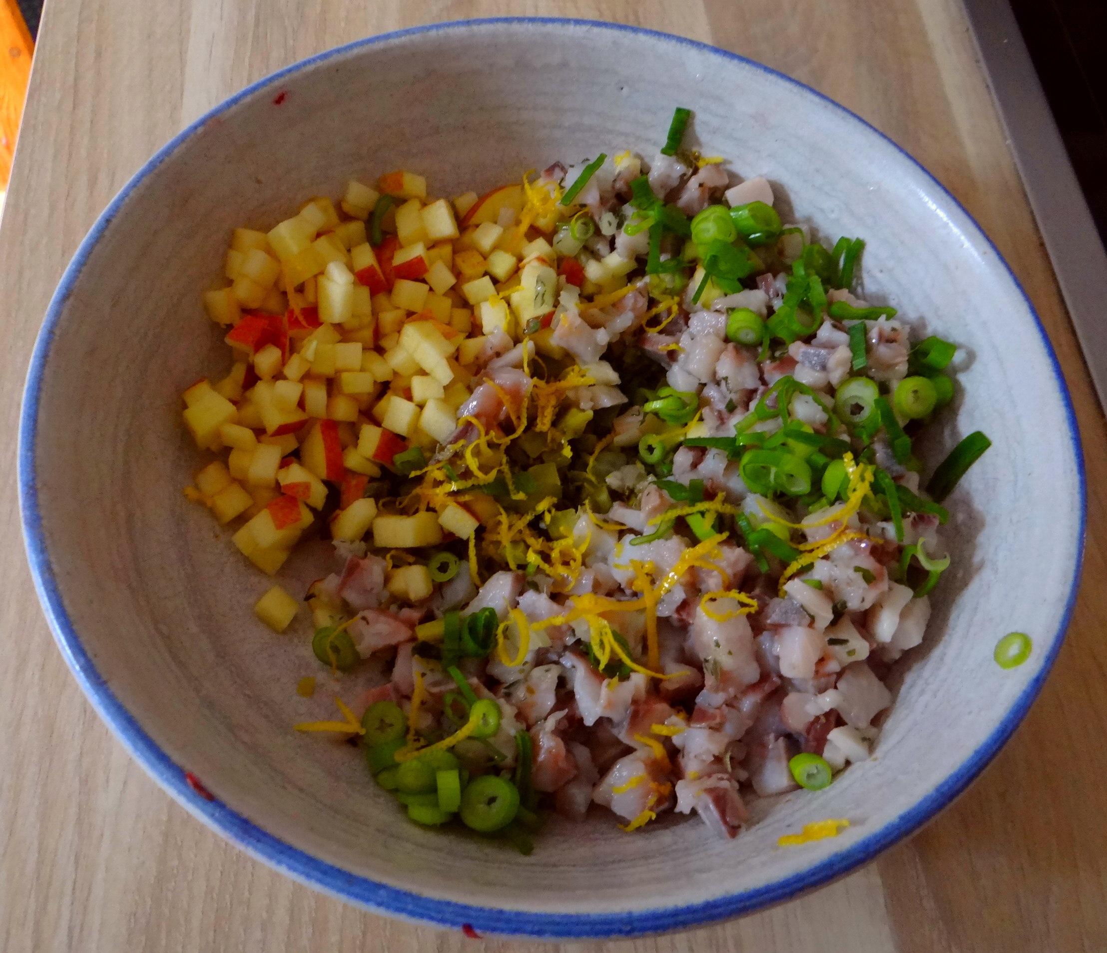 Matjes Tatar und Petersilienkartoffeln (7)