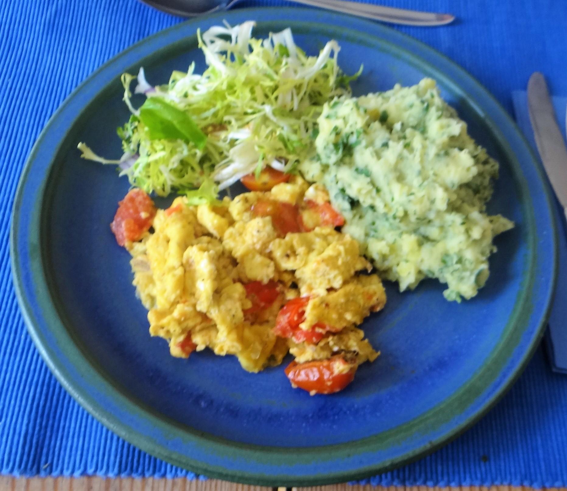 Kartoffelstampf mit Wildkräutern (17)