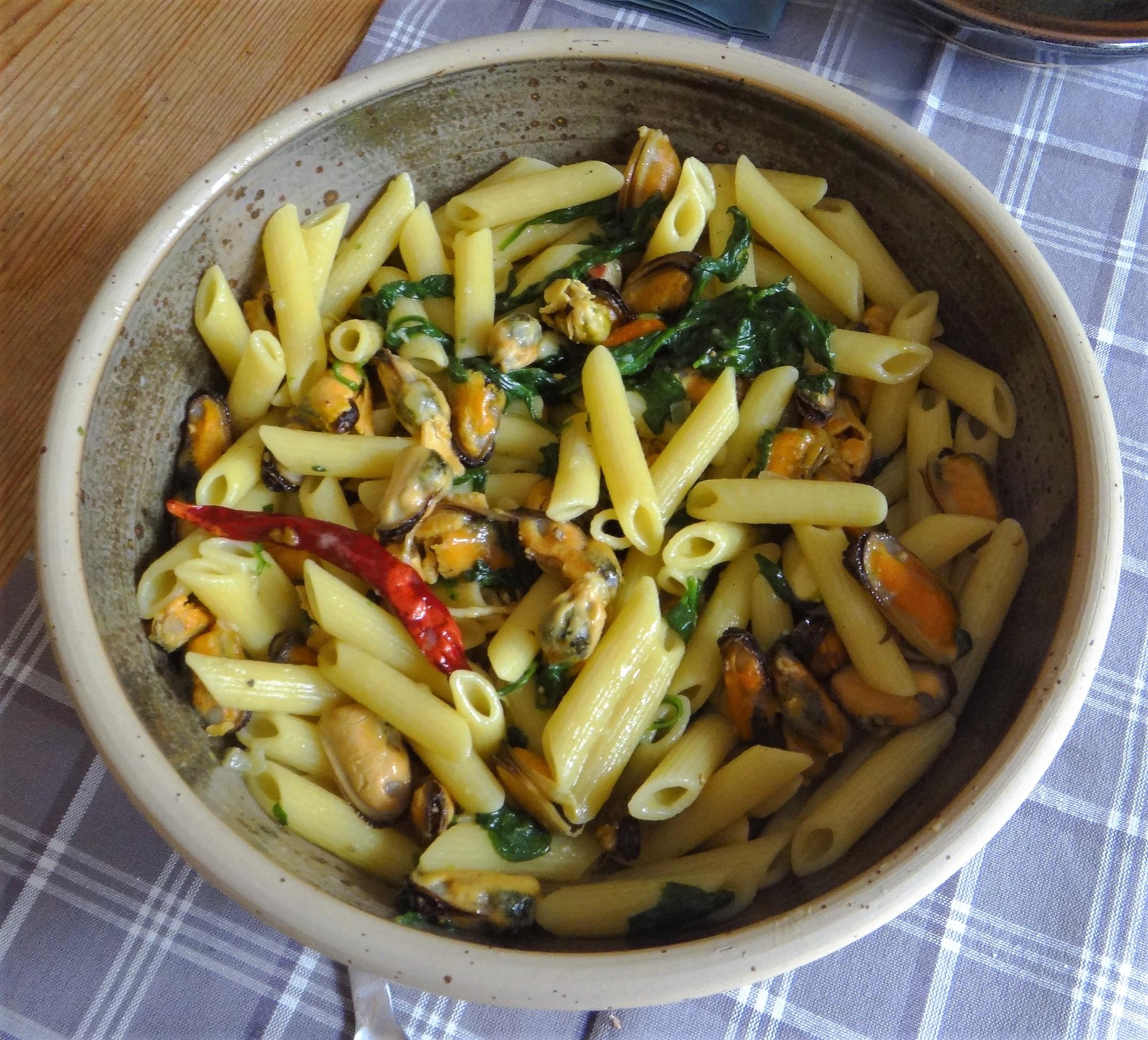 Nudeln,Spinat,Muscheln (10)