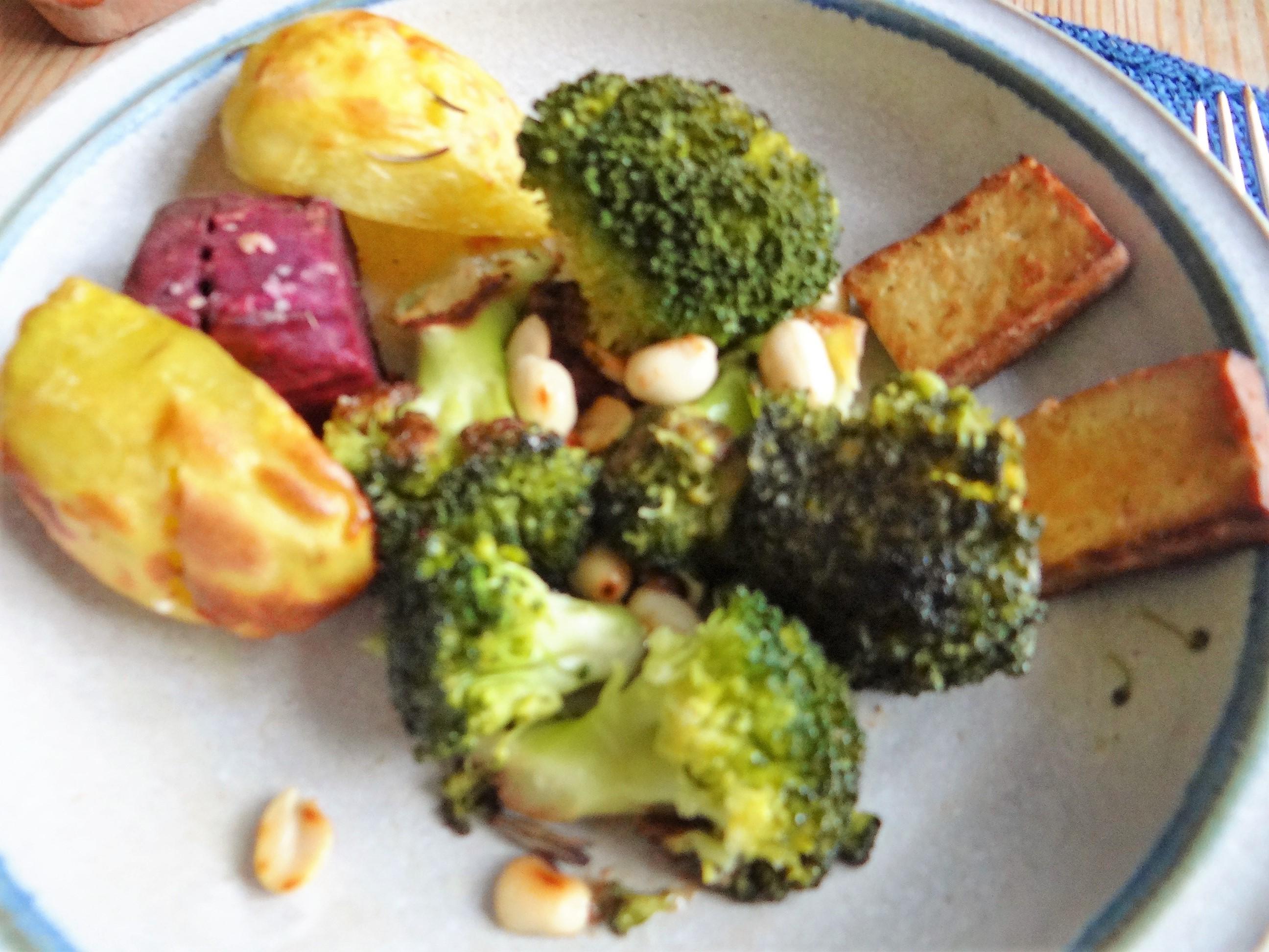 Ofenkartoffeln,Brokkoli,Räuchertofu (2)