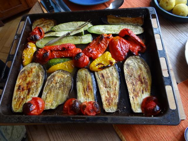 Ofengemüse,geräucherter Lachs,Bärlauch Dip (7)