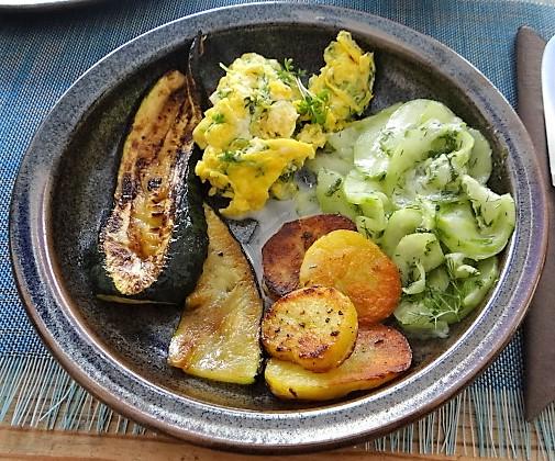 Bratkartoffel-Rührei-Salat (4)
