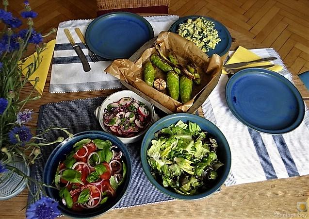 Gemüse,Salat und Ei (3)