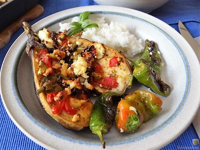 Auberginen,Tomate,Feta,Pimientos,Reis (1)