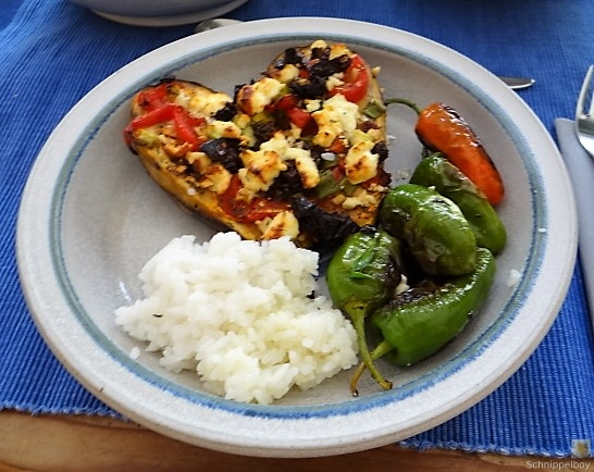Auberginen,Tomate,Feta,Pimientos,Reis (2)