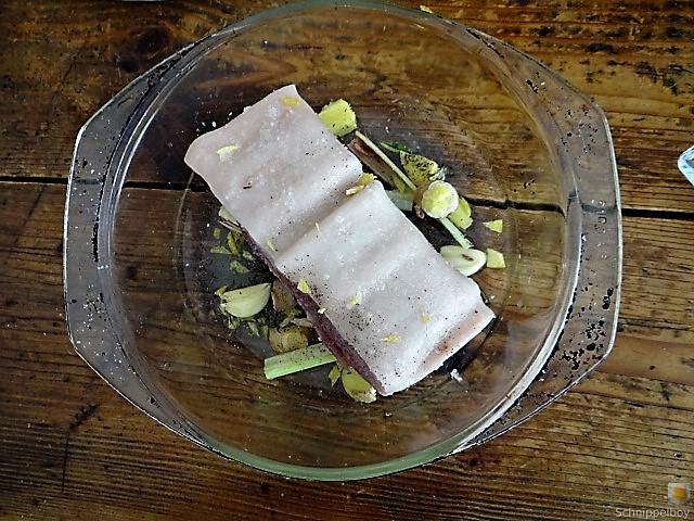 Bauchfleisch,Gnocchis,Bohnensalat (10)