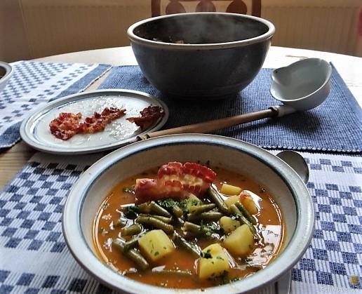 Bohneneintopf,Spillingkompott (1)