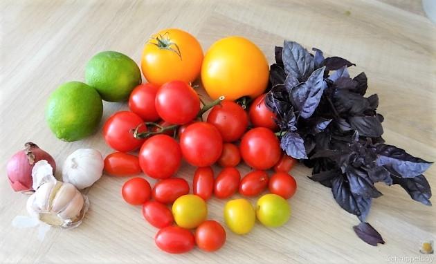 Polenta mit Babyspinat und Tomaten (7)