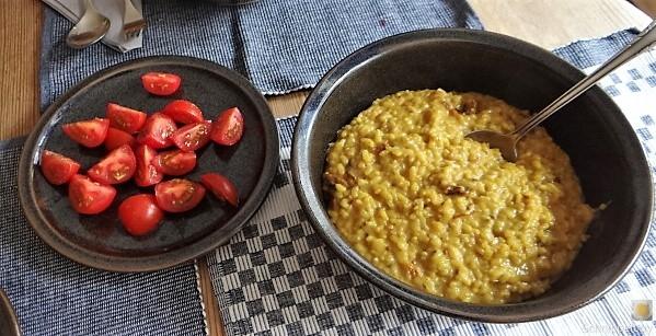 Safran-Tomaten Risotto (11)